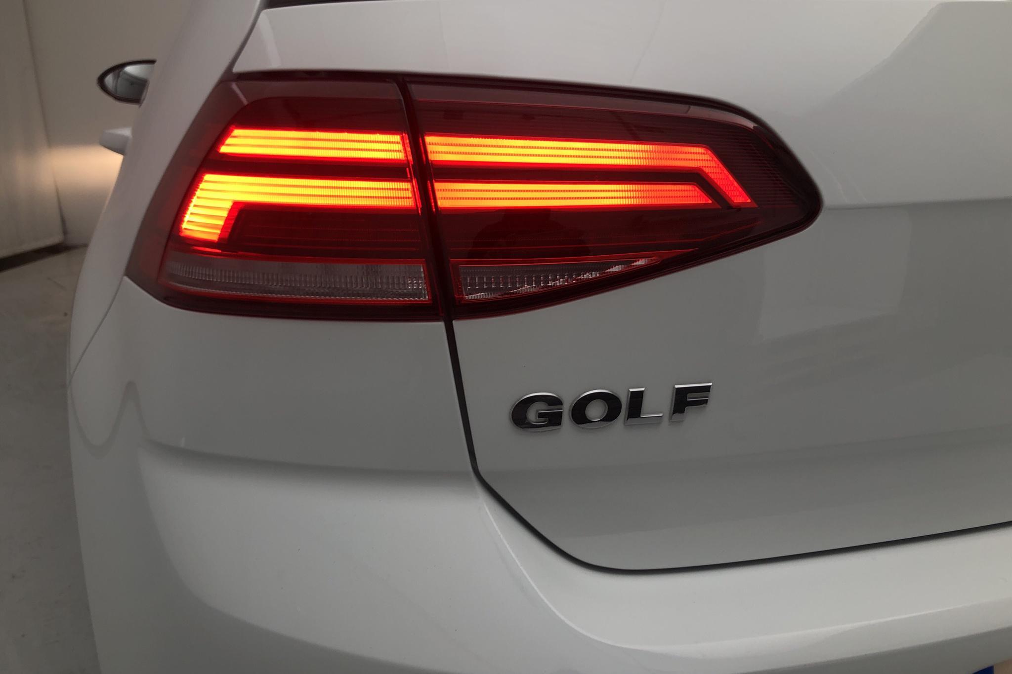 VW Golf VII 1.0 TSI 5dr (110hk) - 20 770 km - Manual - white - 2018