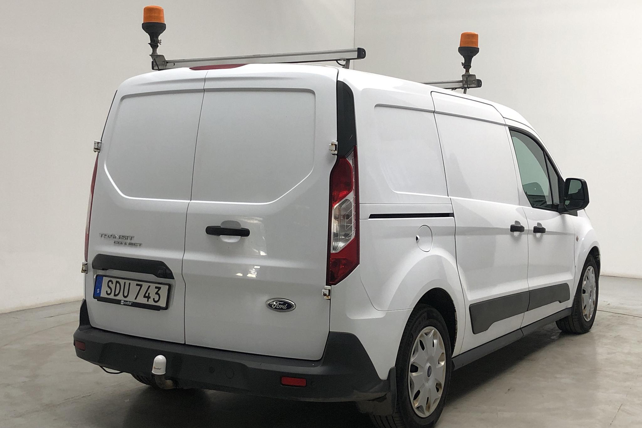 Ford Transit Connect 1.6 TDCi (95hk) - 296 680 km - Manual - white - 2015