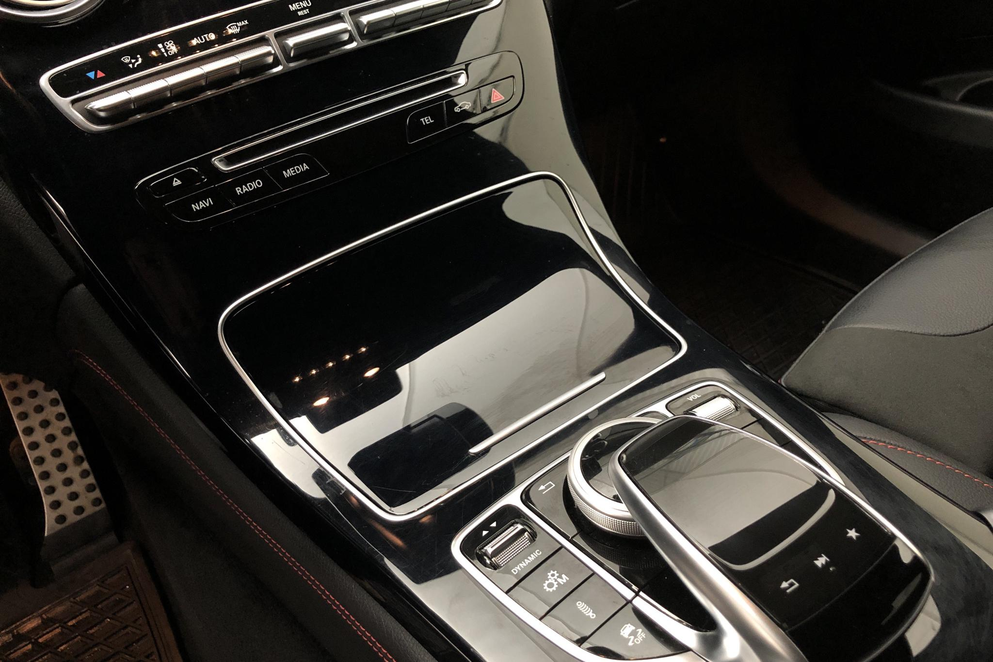 Mercedes GLC 43 AMG 4MATIC Coupé C253 (367hk) - 6 108 mil - Automat - svart - 2018