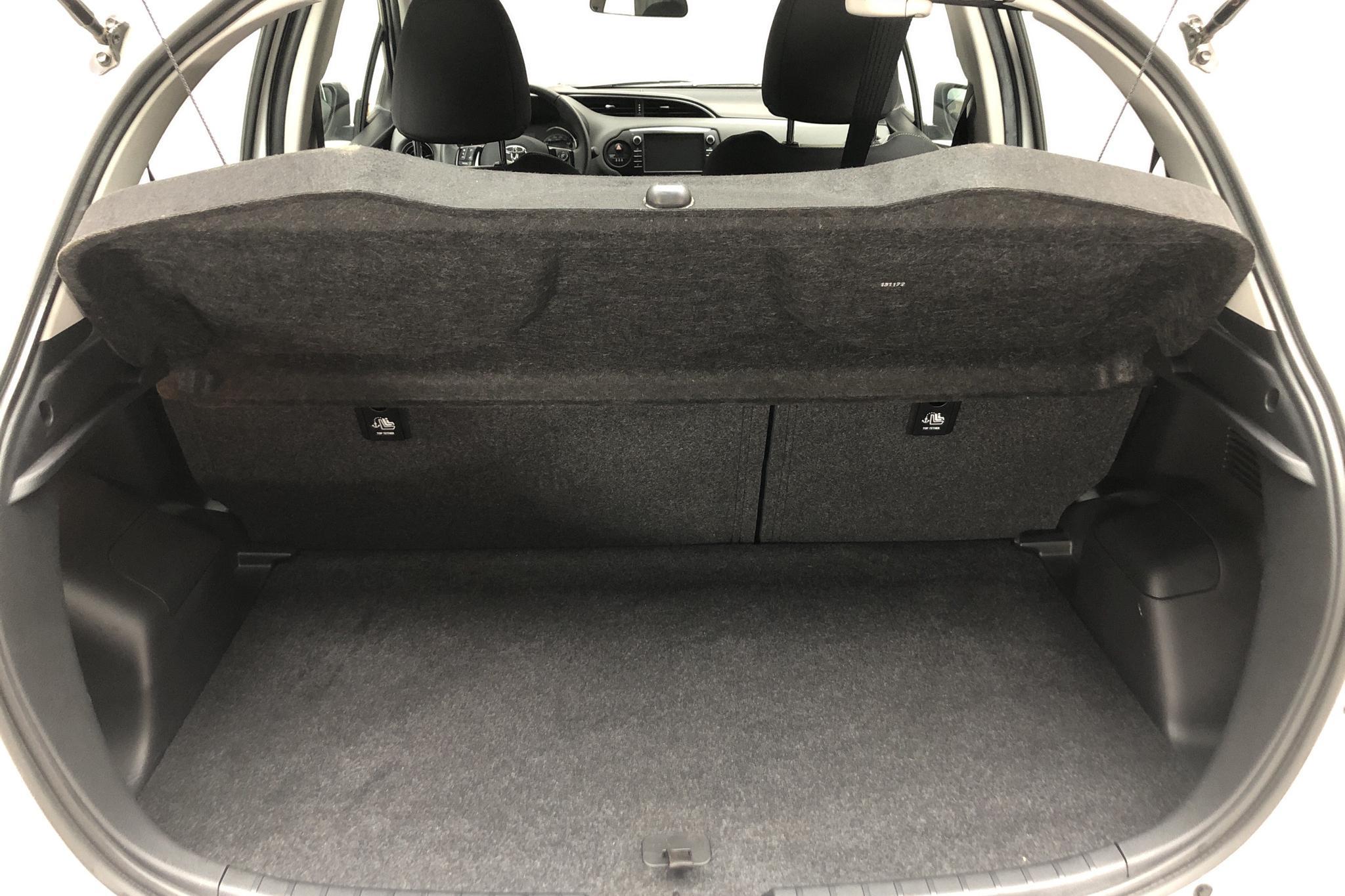 Toyota Yaris 1.5 Hybrid 5dr (101hk) - 32 700 km - Automatic - white - 2018