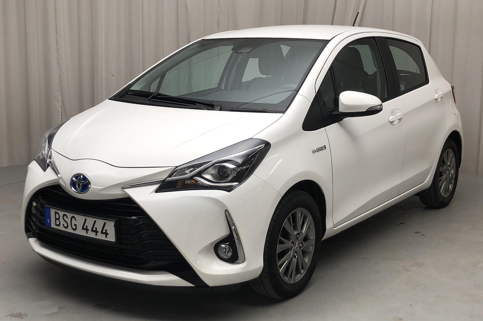 Toyota Yaris 1.5 Hybrid 5dr (101hk) - 3 691 mil - Automat - vit - 2018