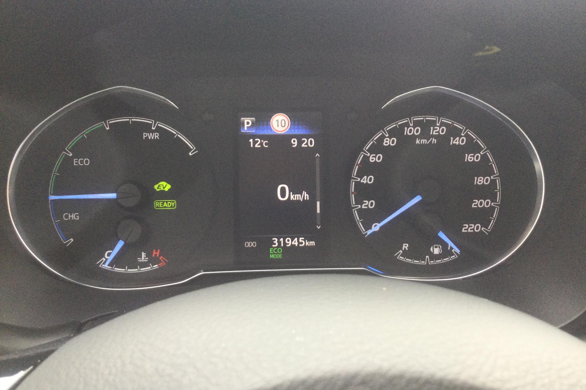Toyota Yaris 1.5 Hybrid 5dr (101hk) - 3 194 mil - Automat - vit - 2018