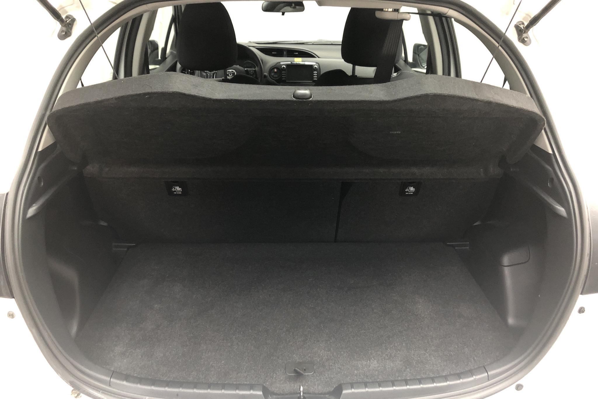 Toyota Yaris 1.5 Hybrid 5dr (101hk) - 3 759 mil - Automat - vit - 2018