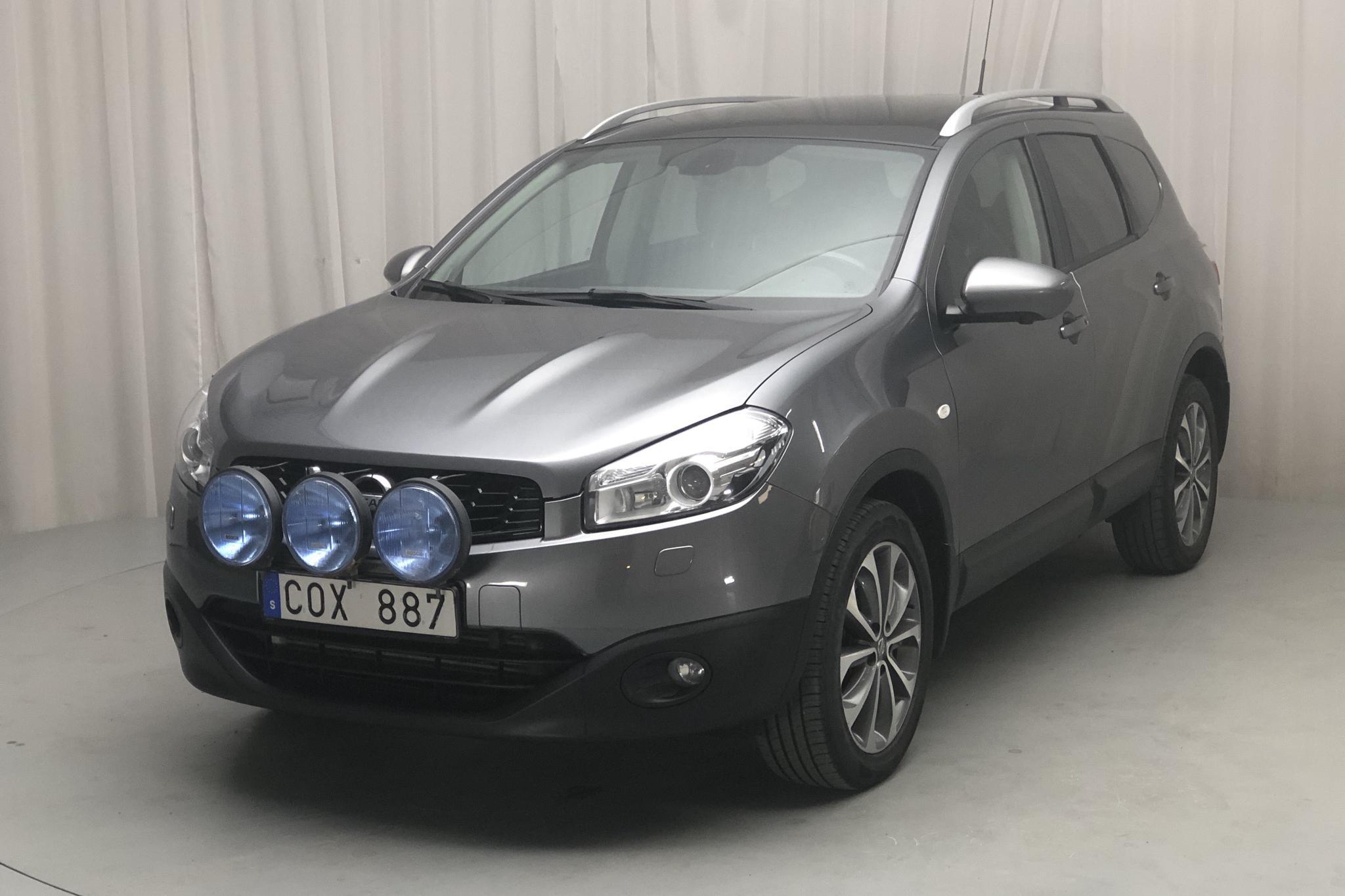 Nissan Qashqai+2 2.0 dCi 4x4 (150hk) - 202 400 km - Automatic - gray - 2012