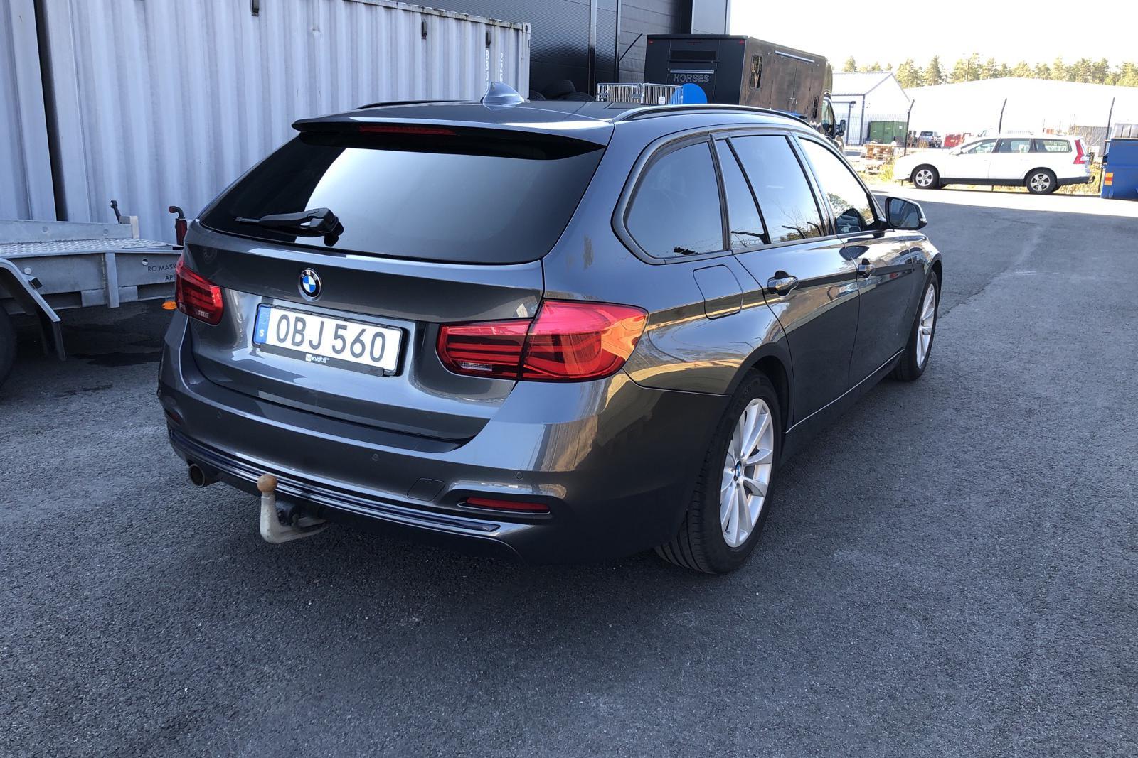BMW 318d Touring, F31 (150hk) - 119 250 km - Automatic - gray - 2016