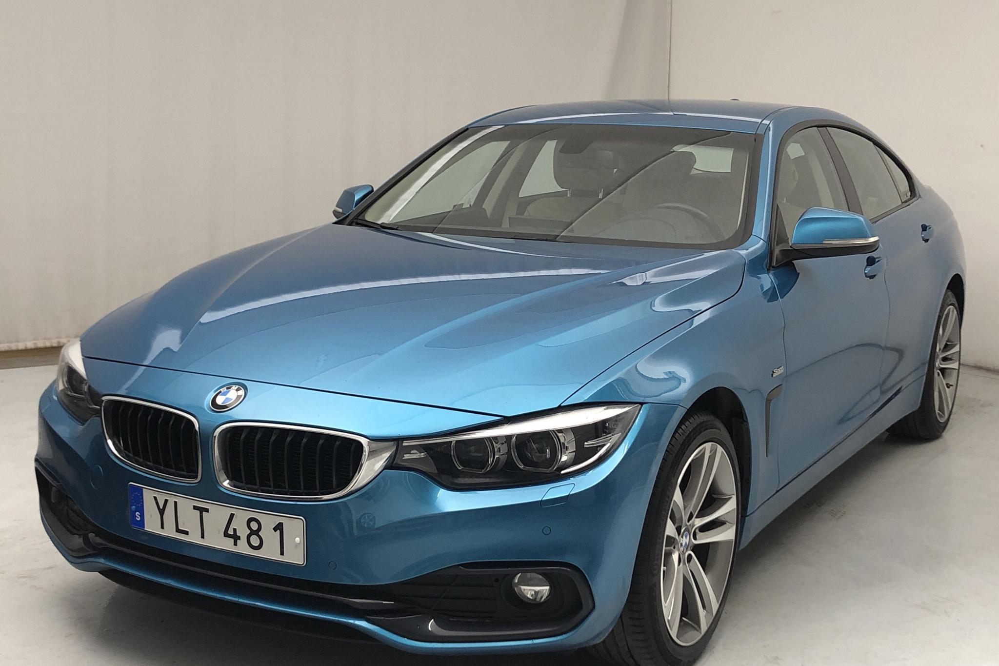 BMW 420d xDrive Gran Coupé, F36 (190hk) - 60 560 km - Automatic - blue - 2018