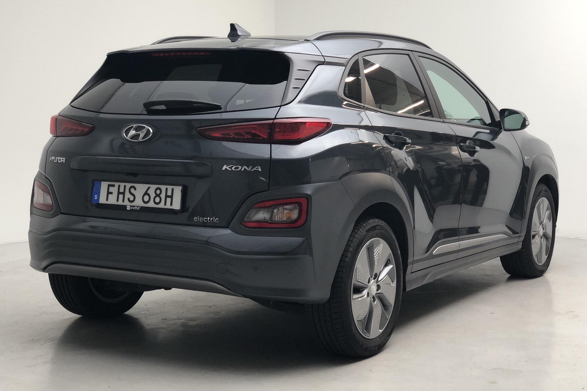 Hyundai Kona Electric Long Range 64kWh (204hk) - 4 419 mil - Automat - 2019