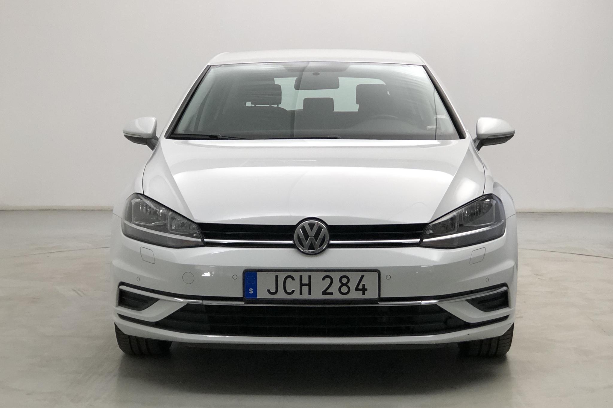 VW Golf VII 1.4 TSI Multifuel 5dr (125hk) - 34 140 km - Manual - white - 2017