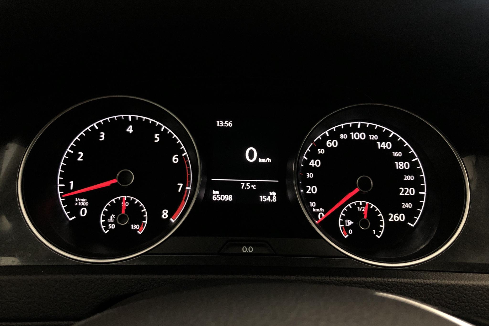 VW Golf VII 1.4 TSI Multifuel 5dr (125hk) - 65 080 km - Manual - Dark Grey - 2018