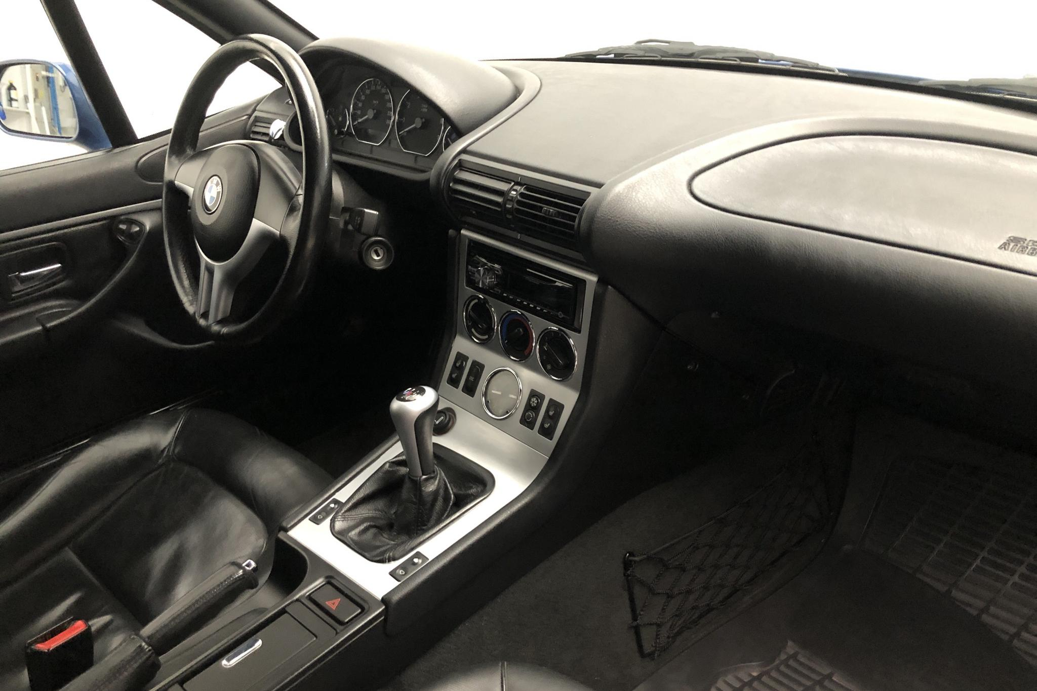 BMW Z3 2.2 Cabriolet (170hk) - 127 550 km - Manual - blue - 2001