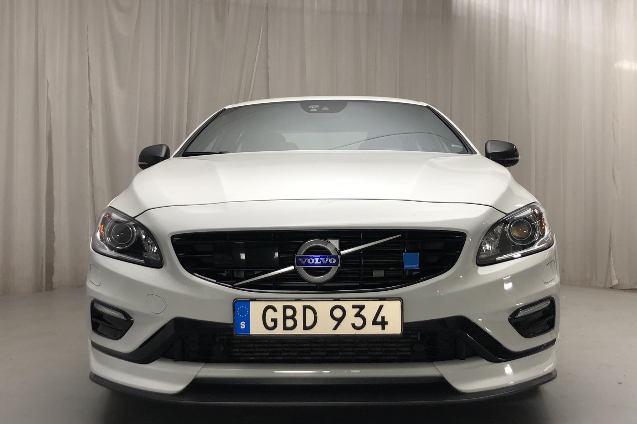 Volvo S60 T6 AWD Polestar (367hk) - 25 860 km - Automatic - white - 2018