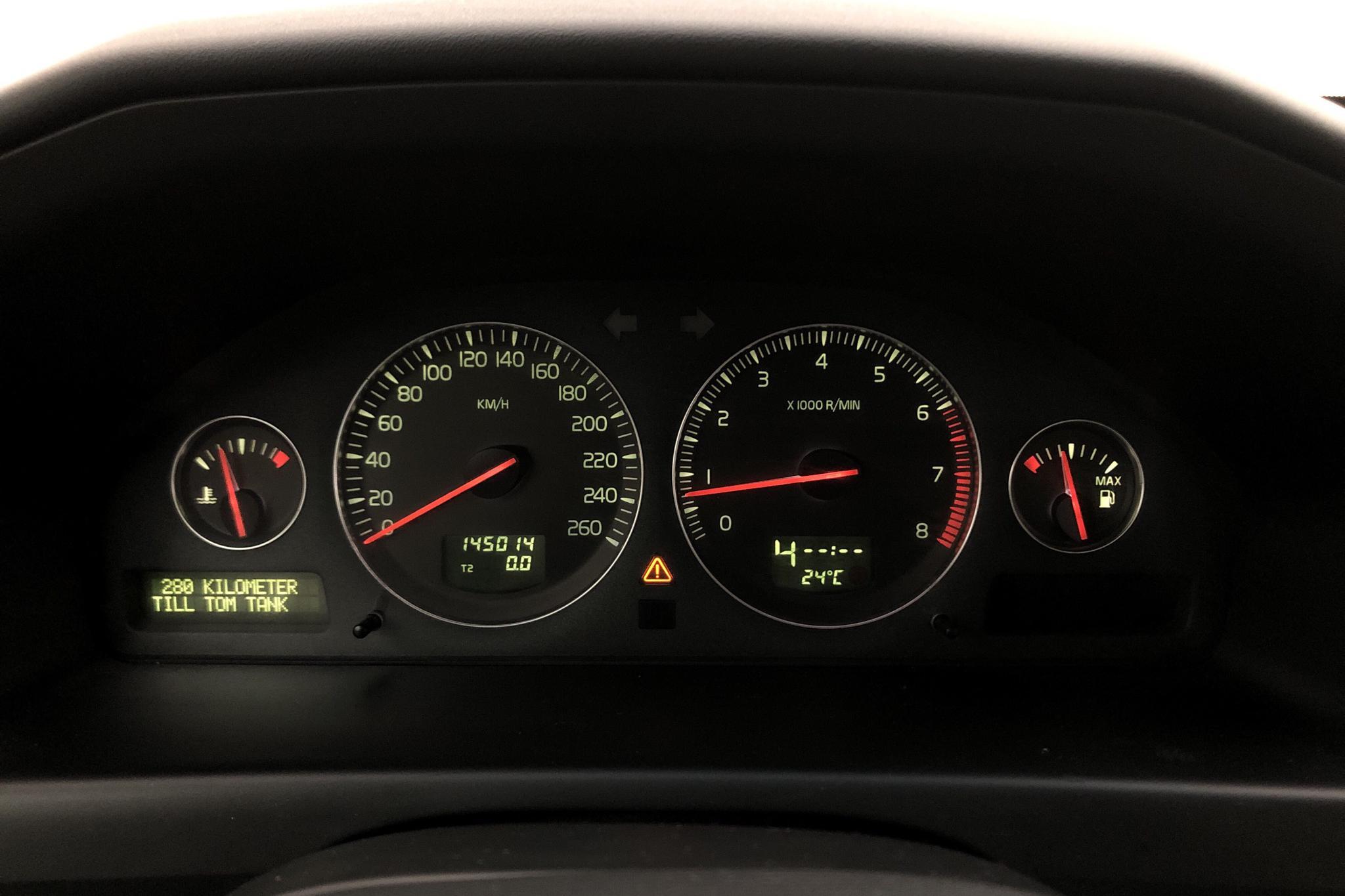 Volvo S60 2.5T (210hk) - 145 010 km - Automatic - gray - 2004