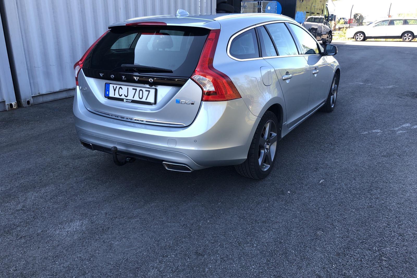 Volvo V60 D6 AWD Twin Engine (220hk)V60 D6 AWD Twin Engine (220hk) - 73 610 km - Automatic - silver - 2016