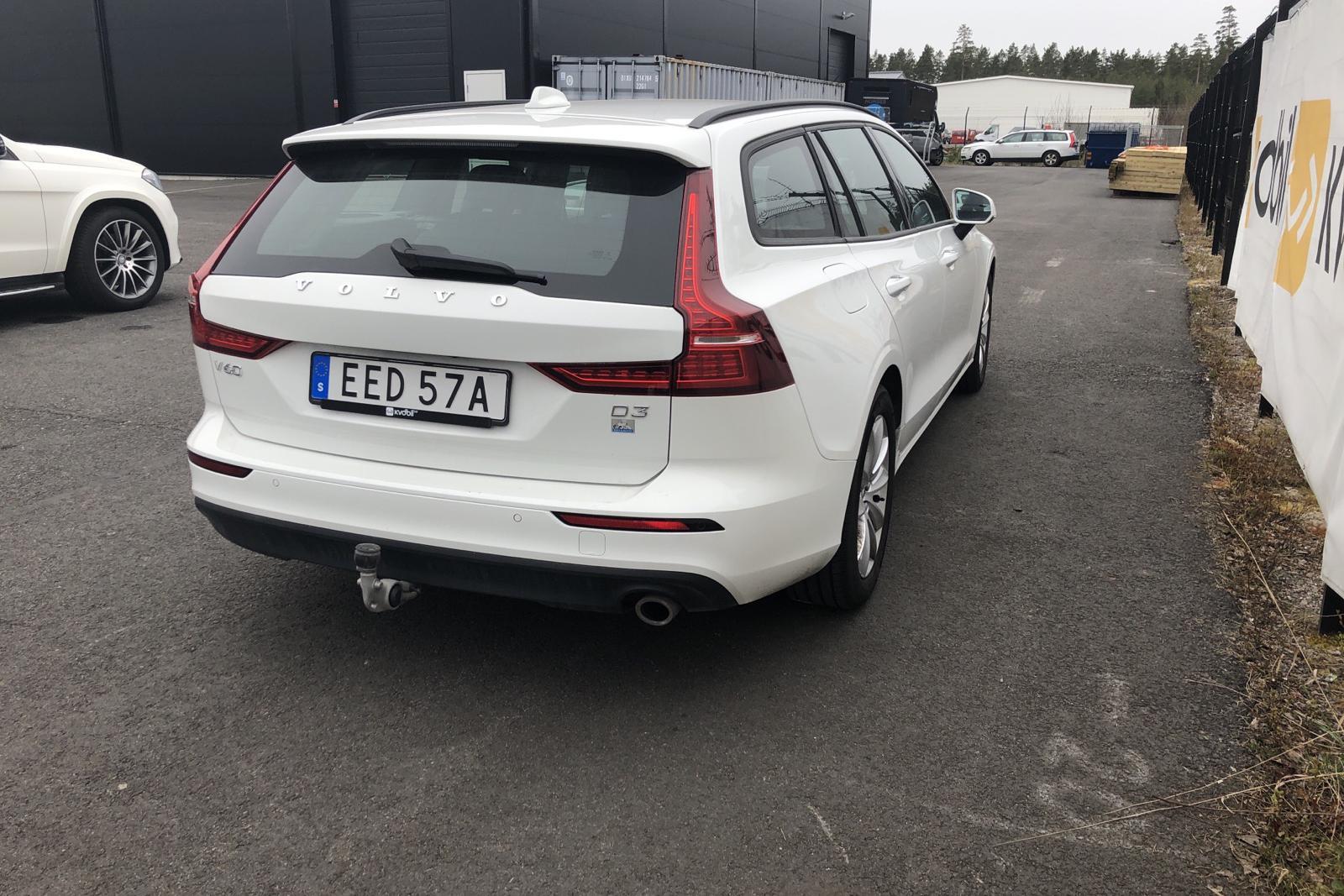 Volvo V60 D3 (150hk) - 7 845 mil - Automat - vit - 2020