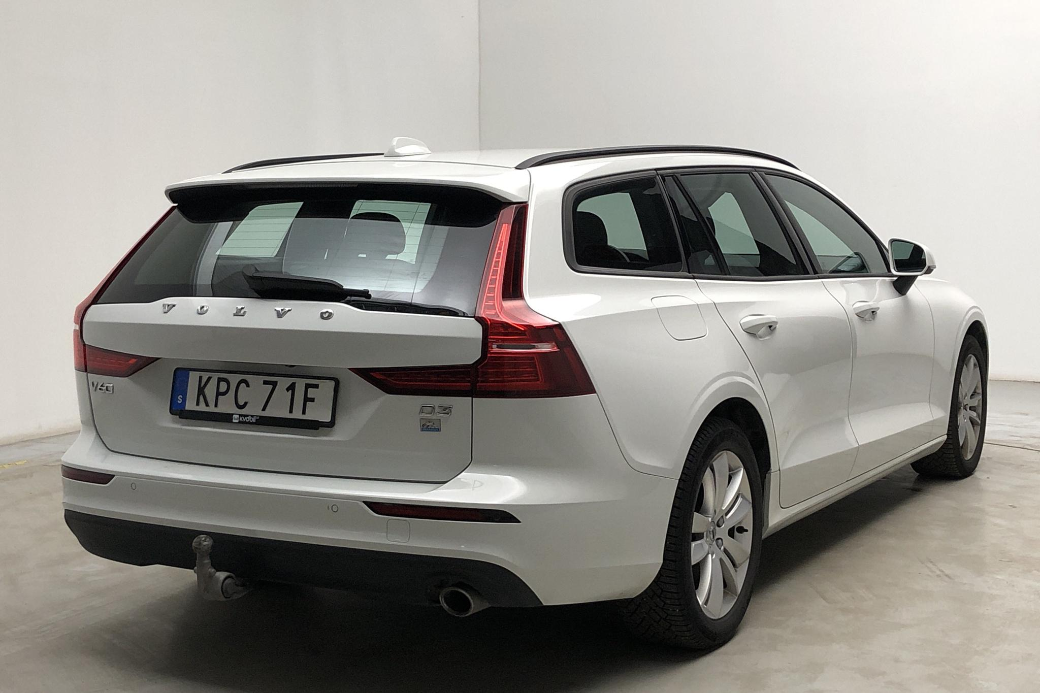 Volvo V60 D3 (150hk) - 5 760 mil - Automat - vit - 2020