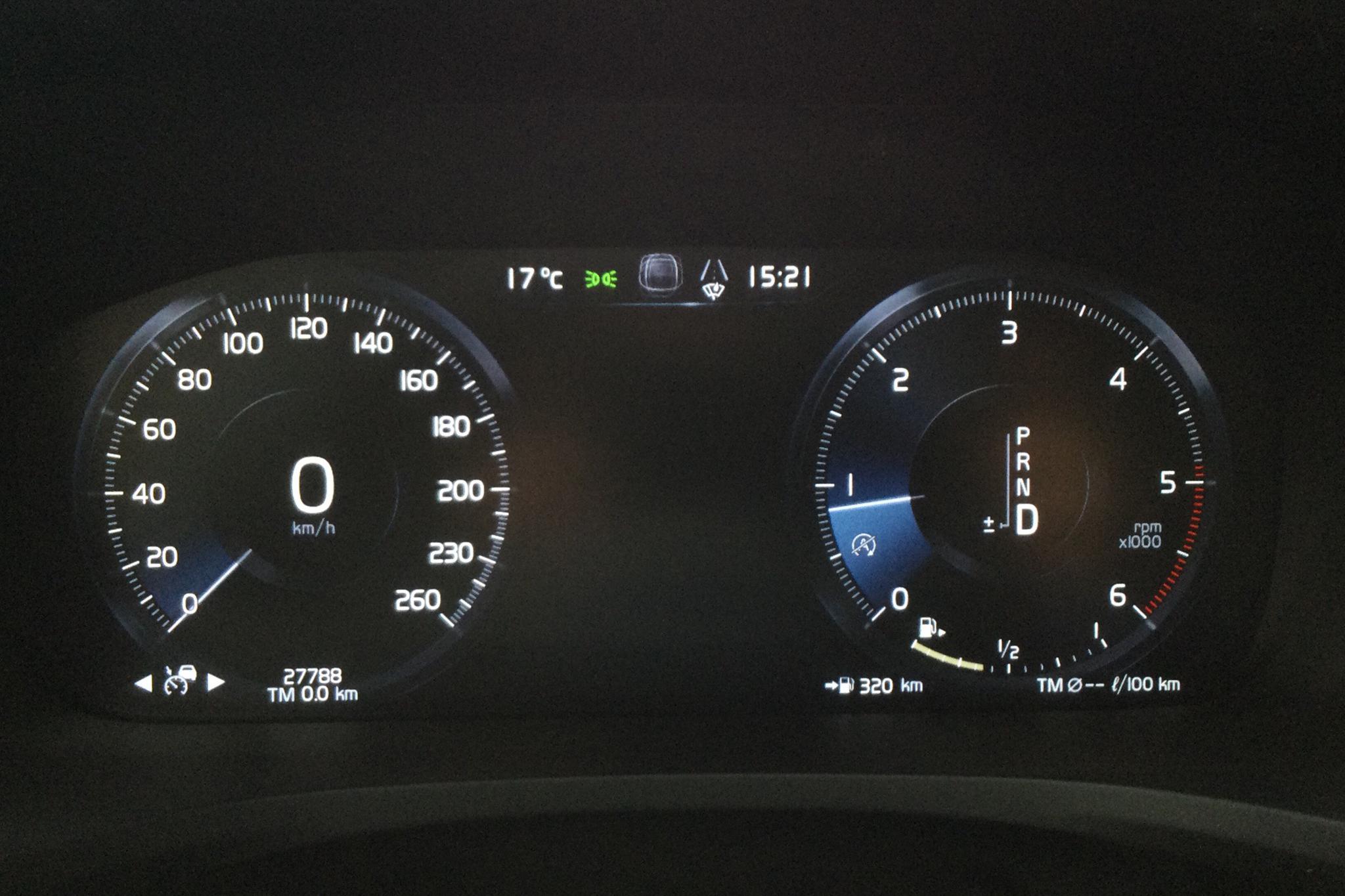 Volvo V60 D3 AWD (150hk) - 27 780 km - Automatic - white - 2020