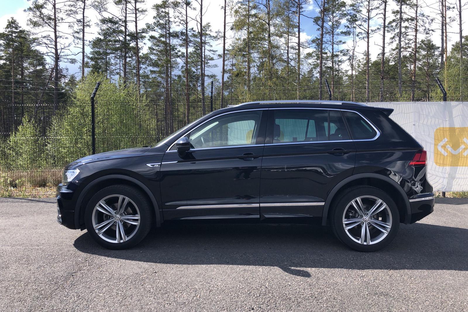 VW Tiguan 1.4 TSI 4MOTION (150hk) - 51 100 km - Manual - black - 2018