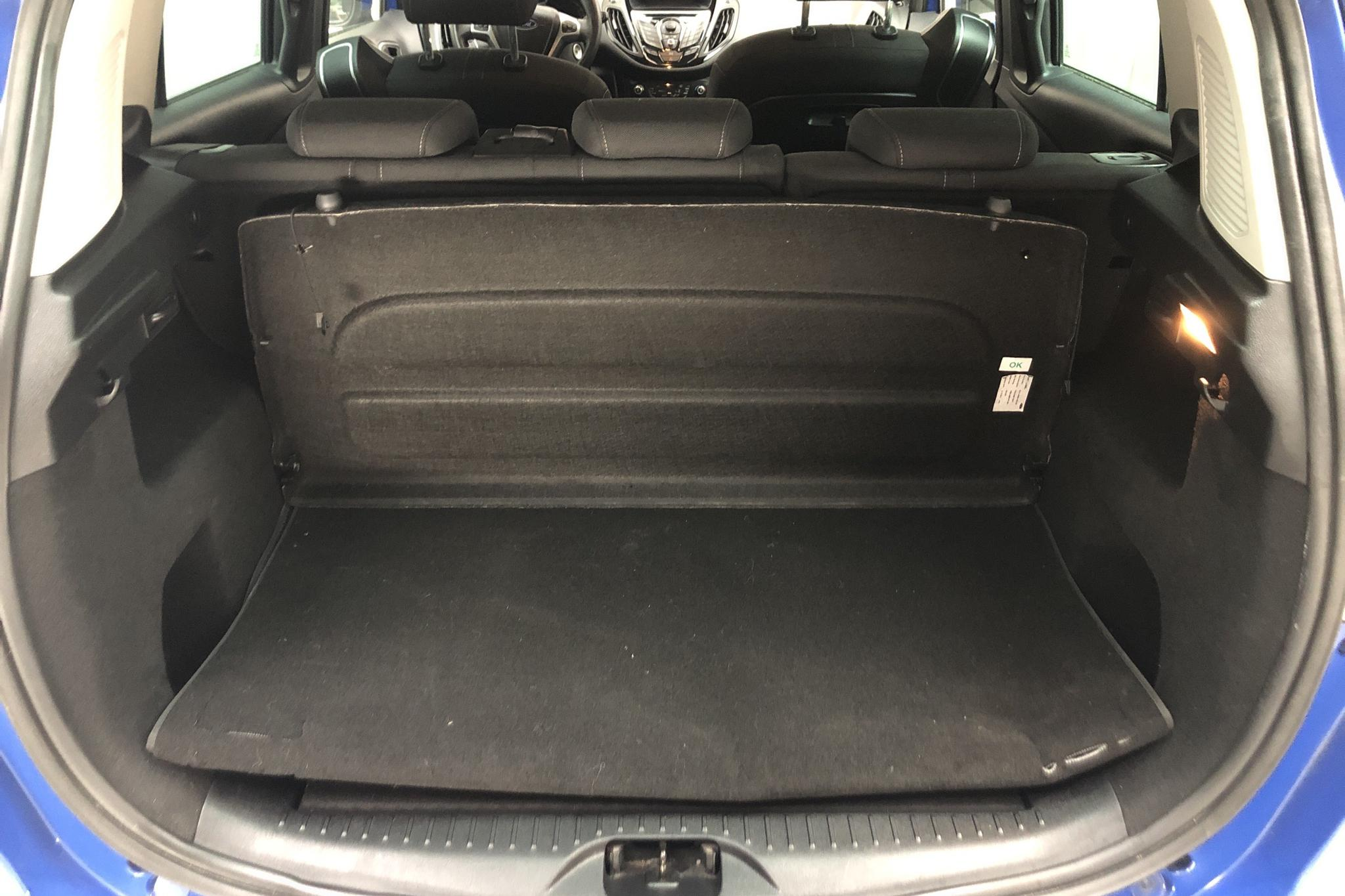 Ford B-Max 1.0 Ecoboost (100hk) - 59 740 km - Manual - blue - 2013