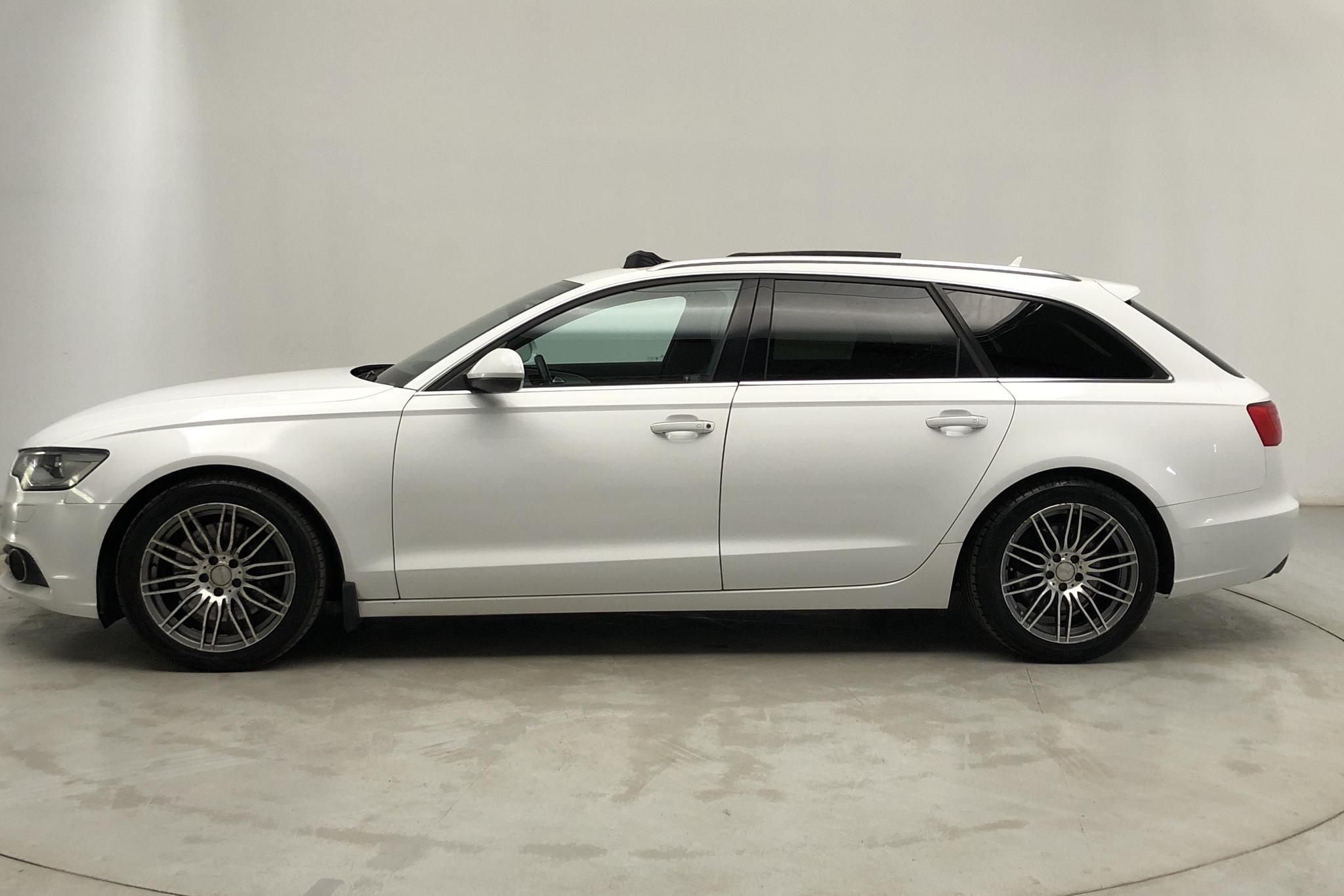 Audi A6 3.0 TDI Avant quattro (245hk) - 207 700 km - Automatic - white - 2012