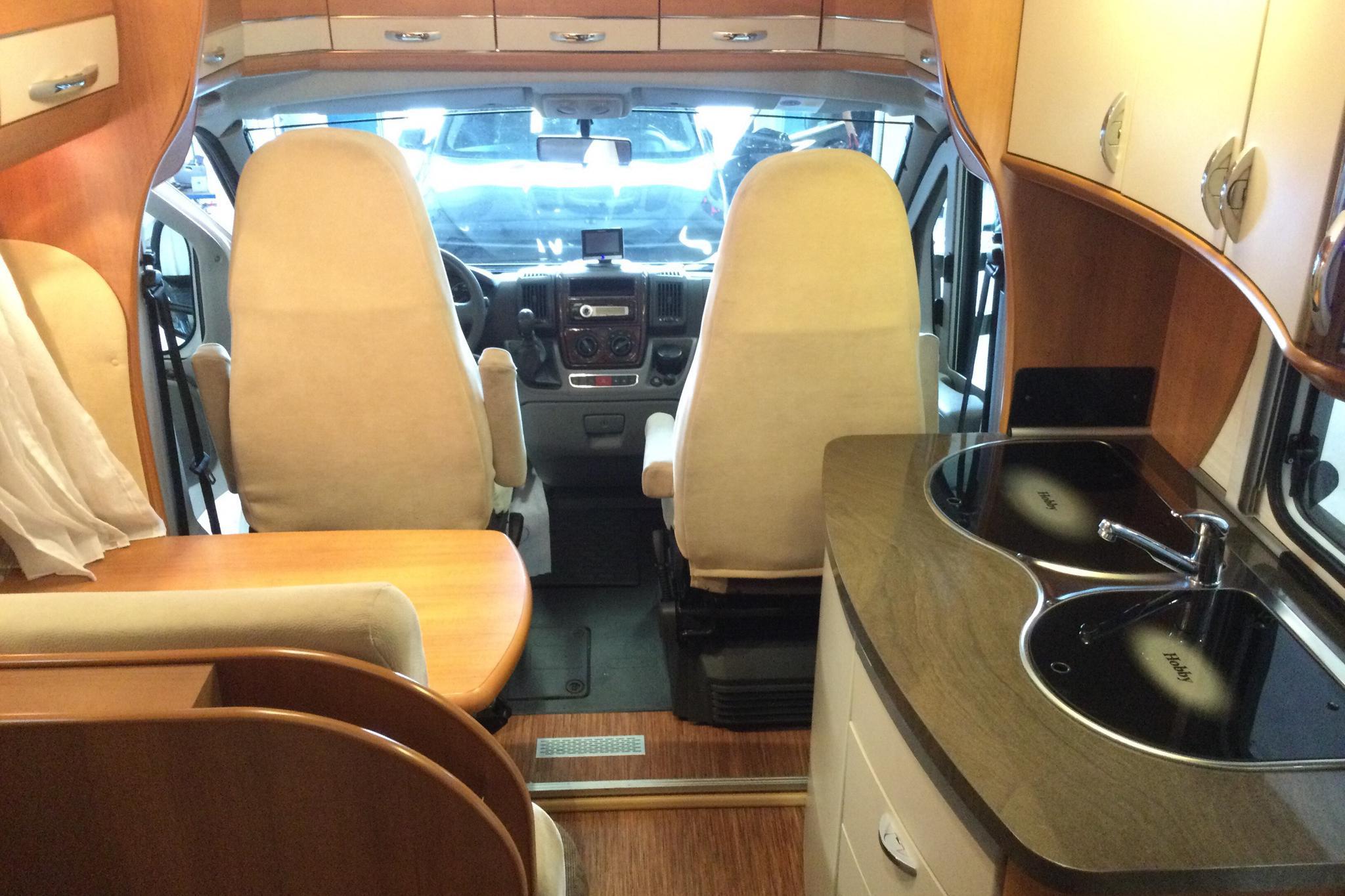 FIAT HOBBY D 650 ES Husbil - 58 010 km - Manual - 2010