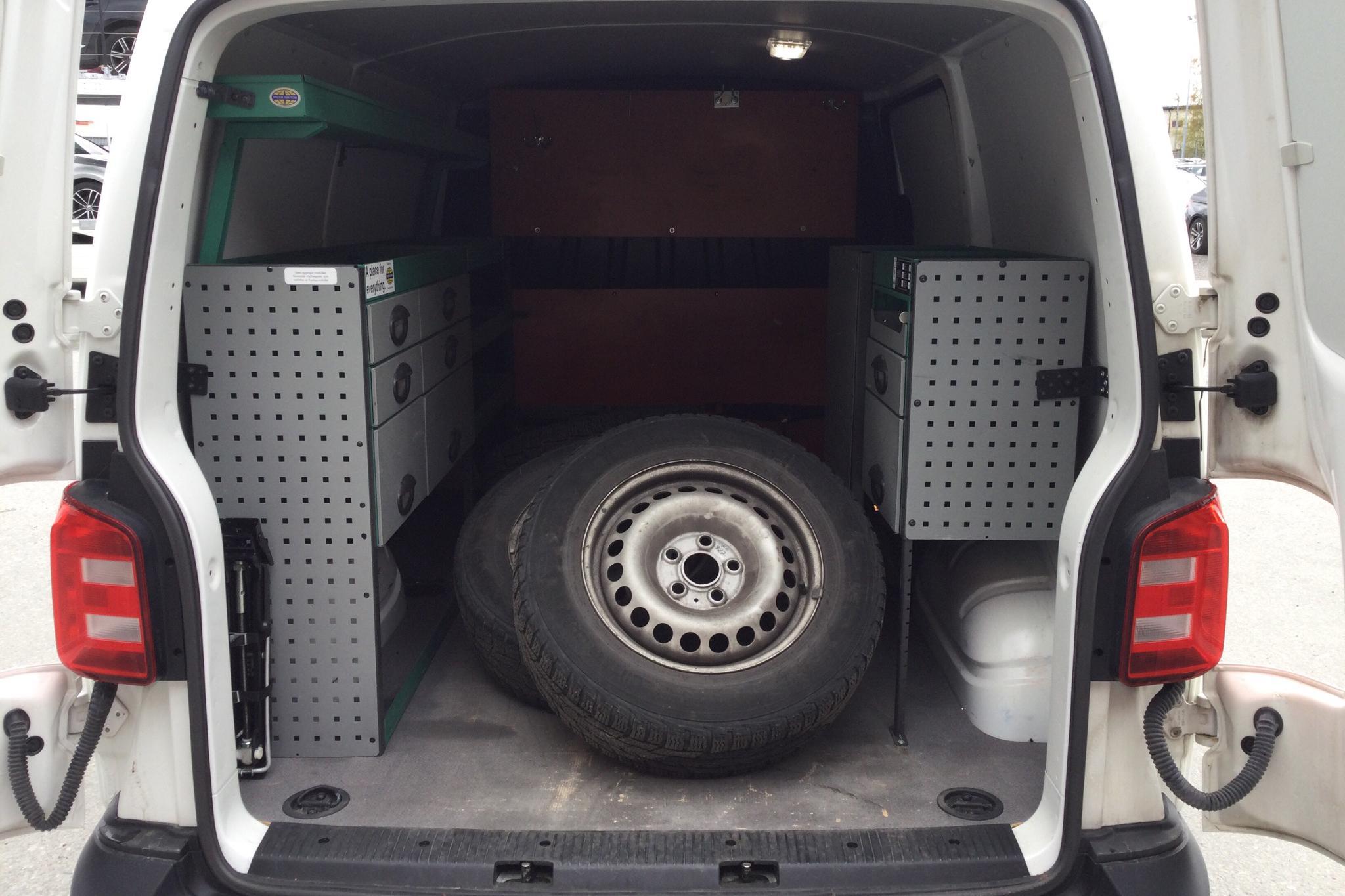 VW Transporter T6 2.0 TDI BMT Skåp (150hk) - 65 900 km - Automatic - white - 2017