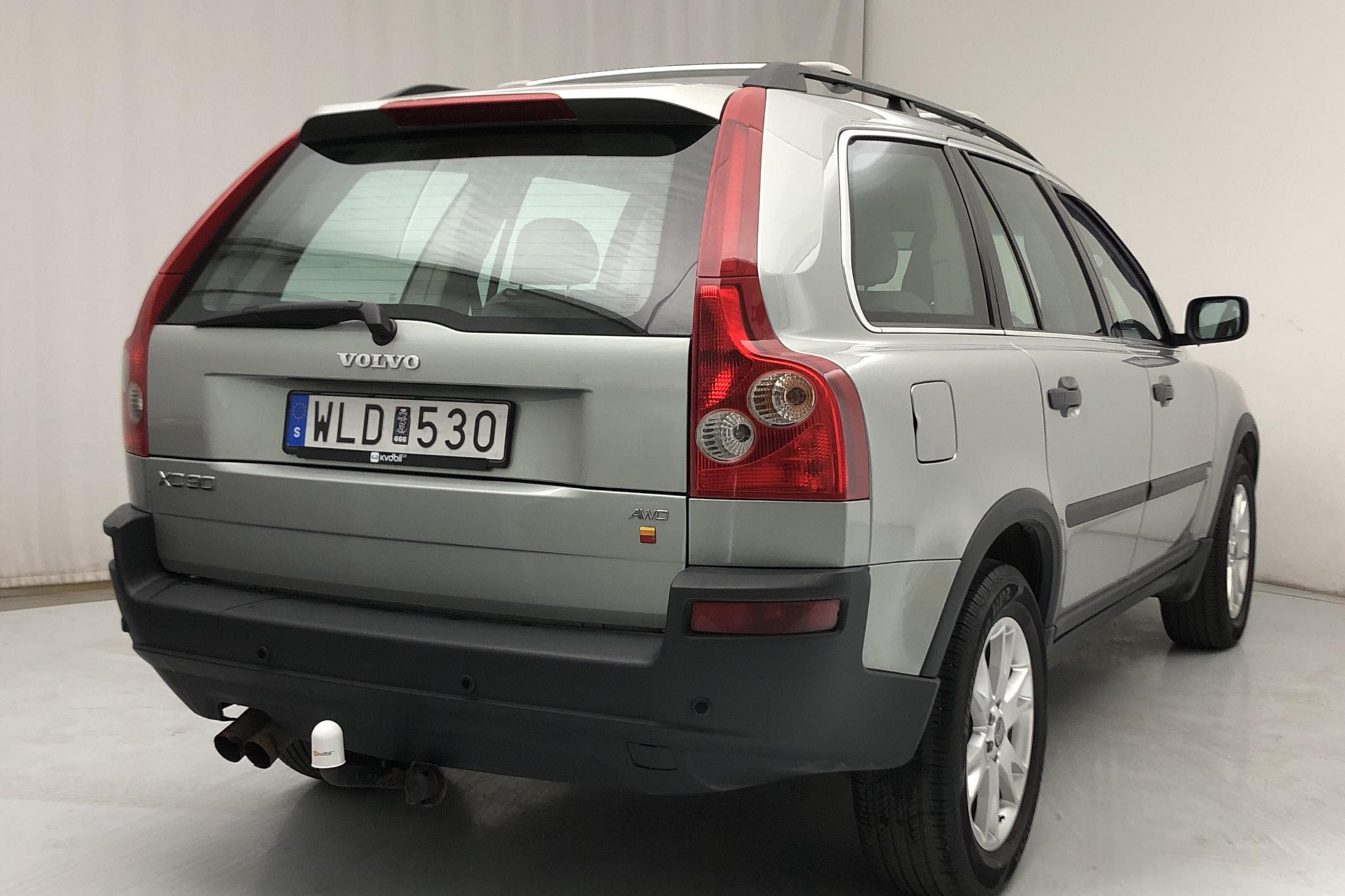 Volvo XC90 2.5T (210hk) - 203 020 km - Automatic - green - 2005