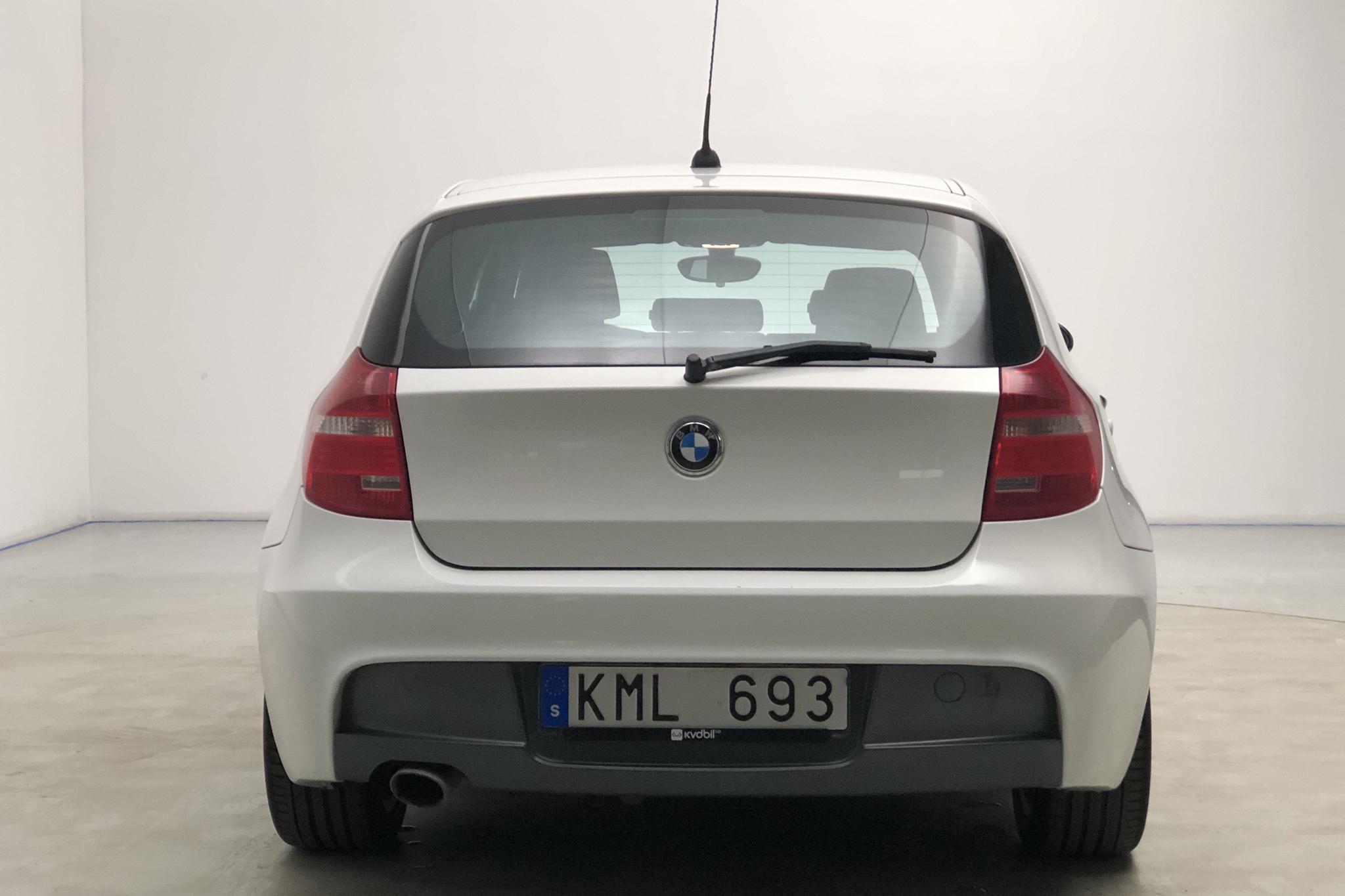 BMW 118d 5dr, E87 (143hk) - 18 929 mil - Manuell - vit - 2009