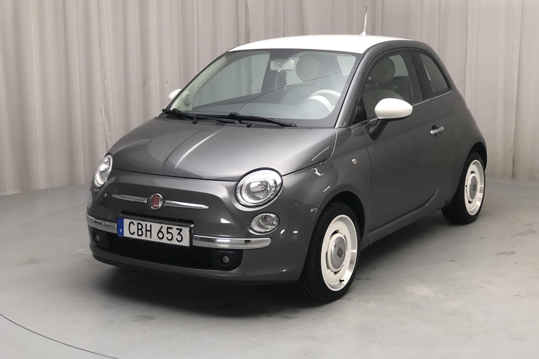 Fiat 500 1.2 (69hk) - 3 946 mil - Manuell - grå - 2015