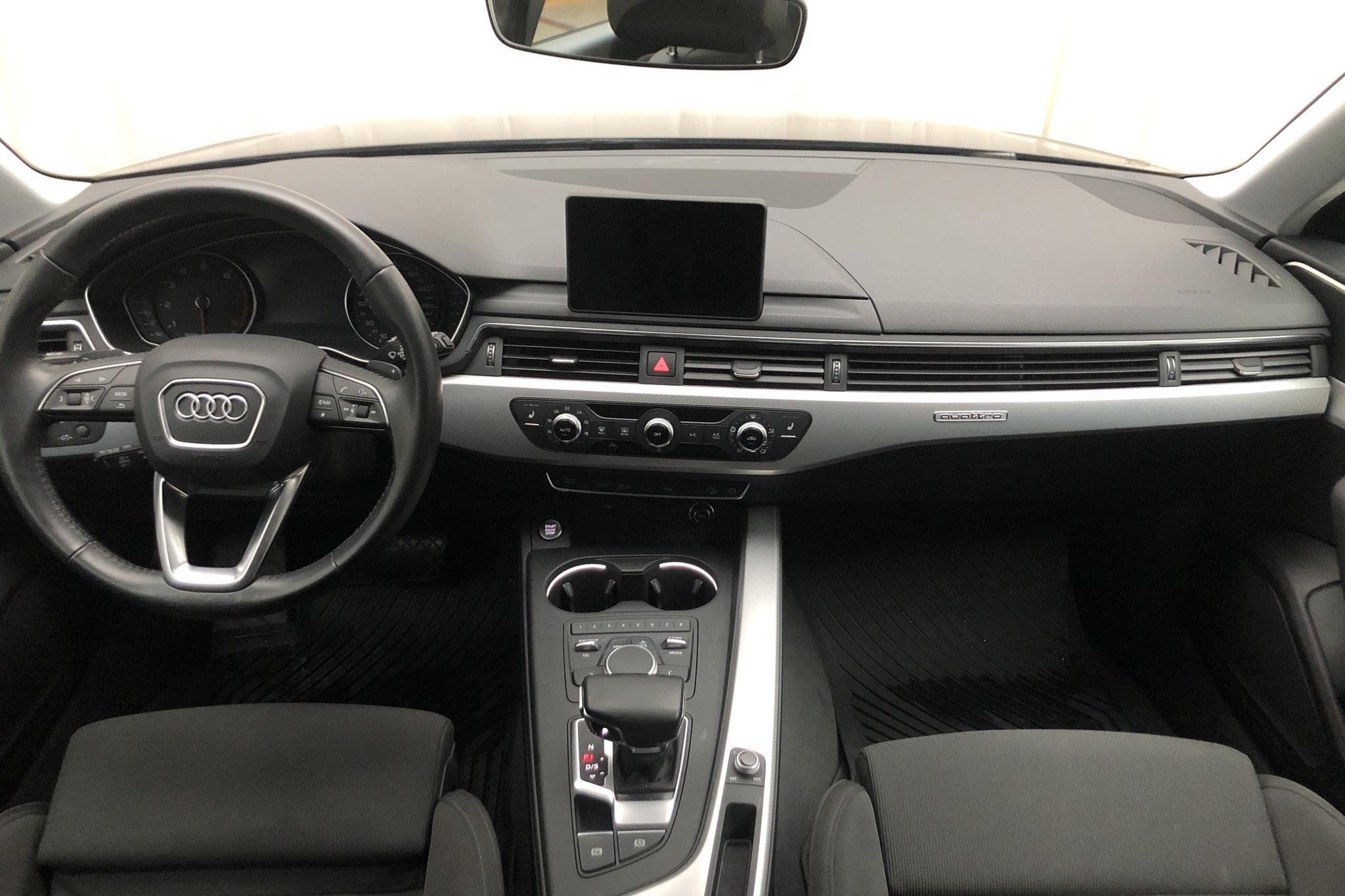Audi A4 Allroad 2.0 TFSI quattro (252hk) - 5 641 mil - Automat - svart - 2018