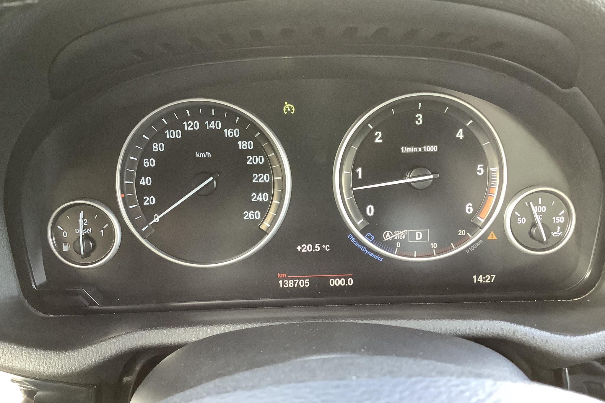 BMW X3 xDrive35d, F25 (313hk) - 13 871 mil - Automat - svart - 2015