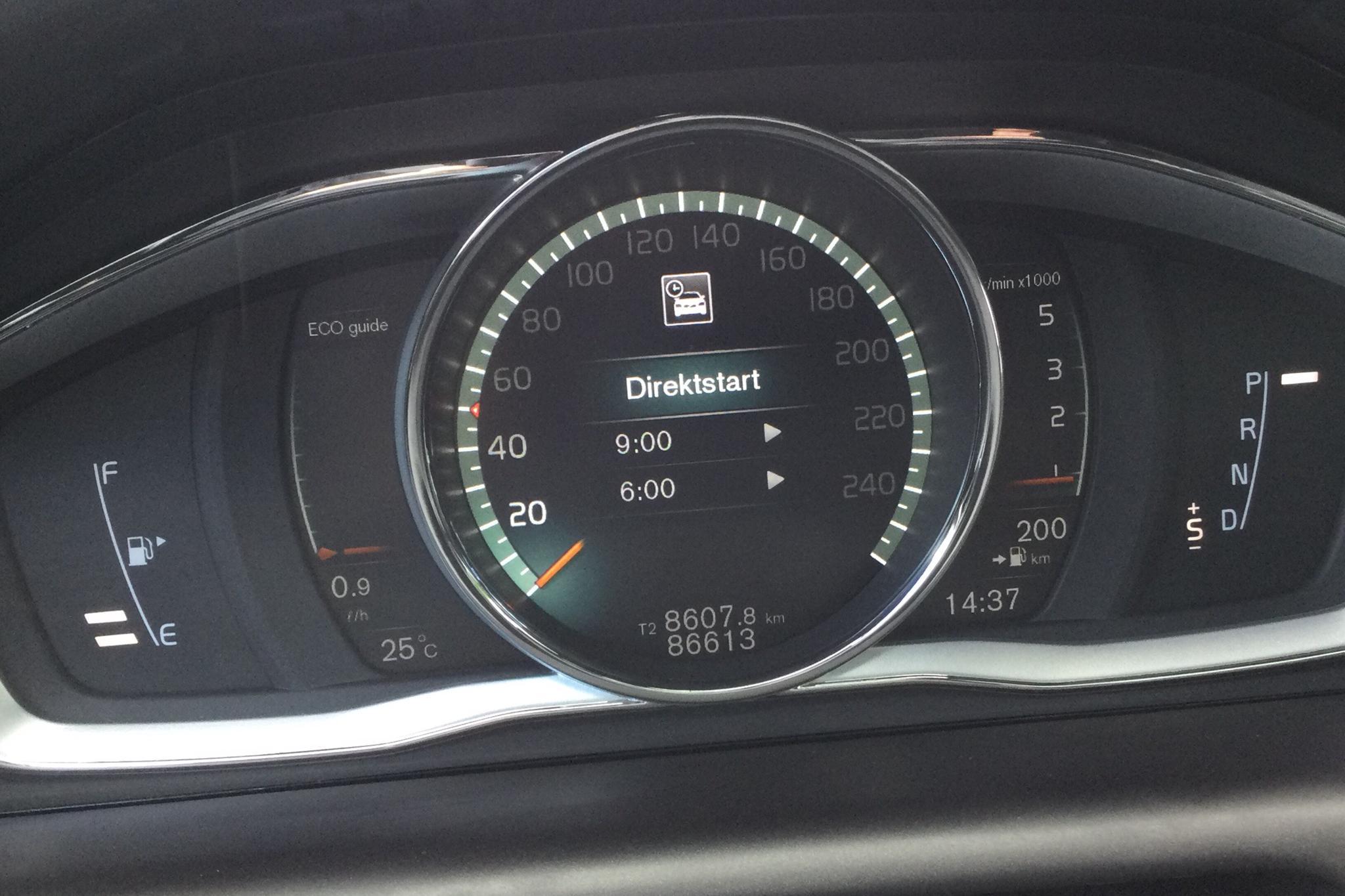 Volvo XC60 D4 AWD (190hk) - 86 610 km - Automatic - black - 2017