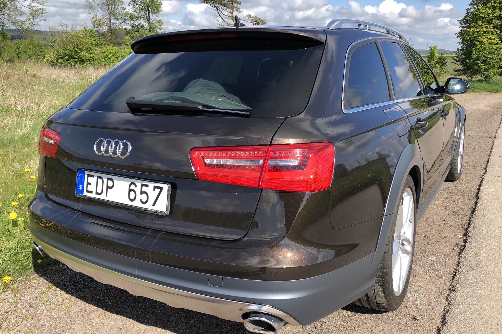 Audi A6 Allroad 3.0 TDI quattro (204hk) - 19 189 mil - Automat - brun - 2014