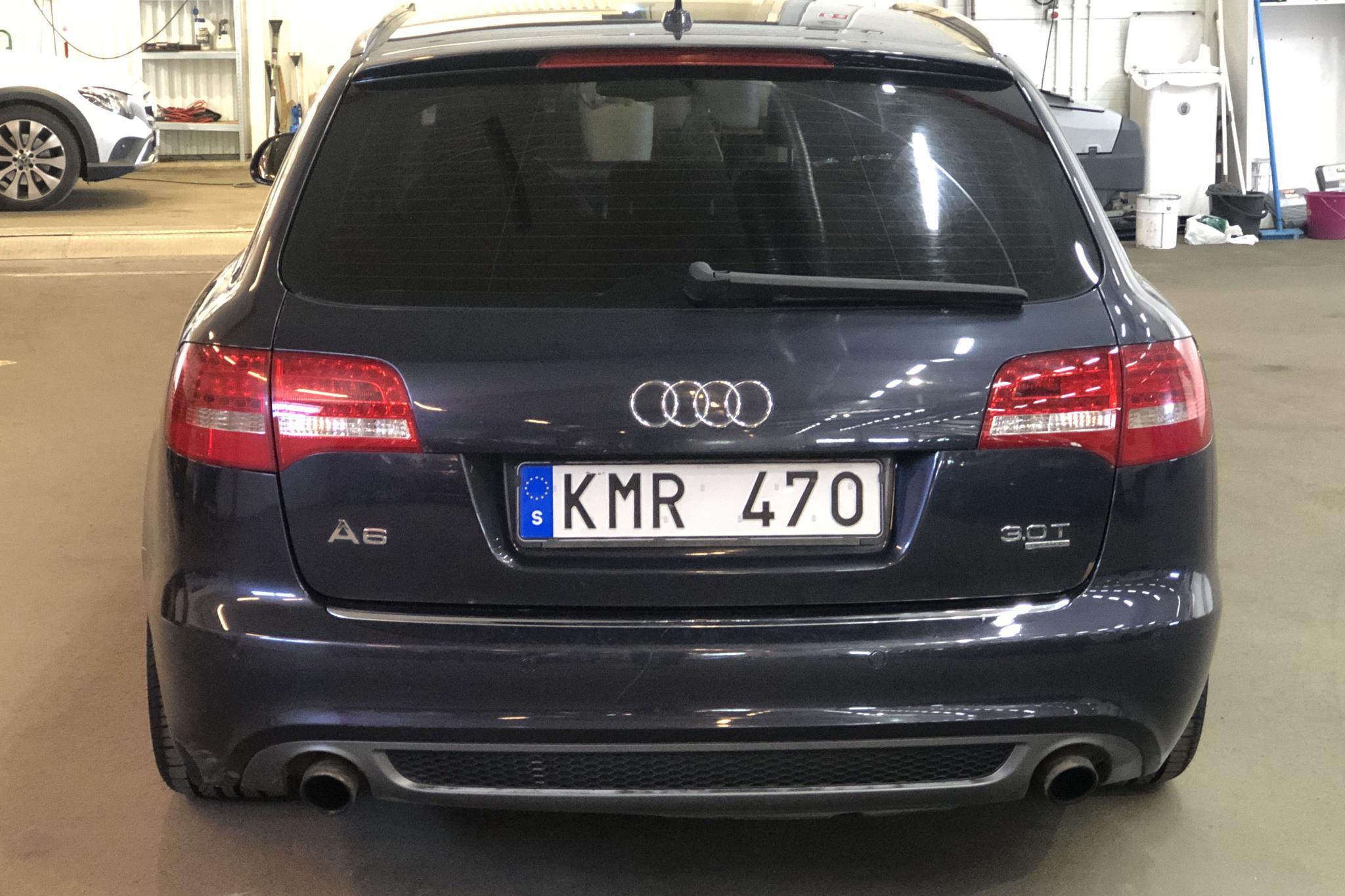 Audi A6 3.0 TFSI Avant quattro (290hk) - 200 840 km - Automatic - blue - 2009