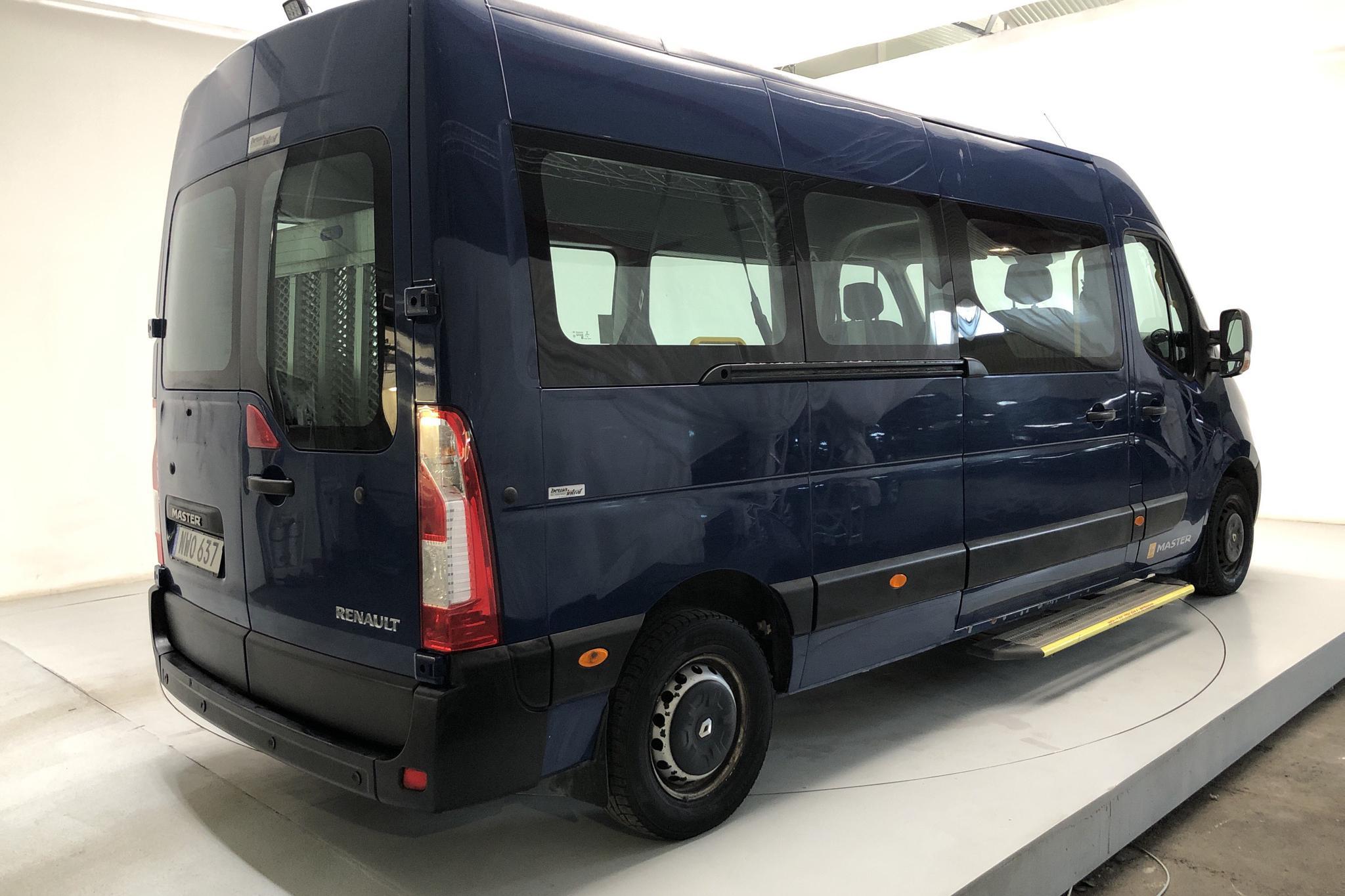 Renault Master MPV 2.3 dCi 2WD (145hk) - 358 910 km - Manual - Dark Blue - 2016