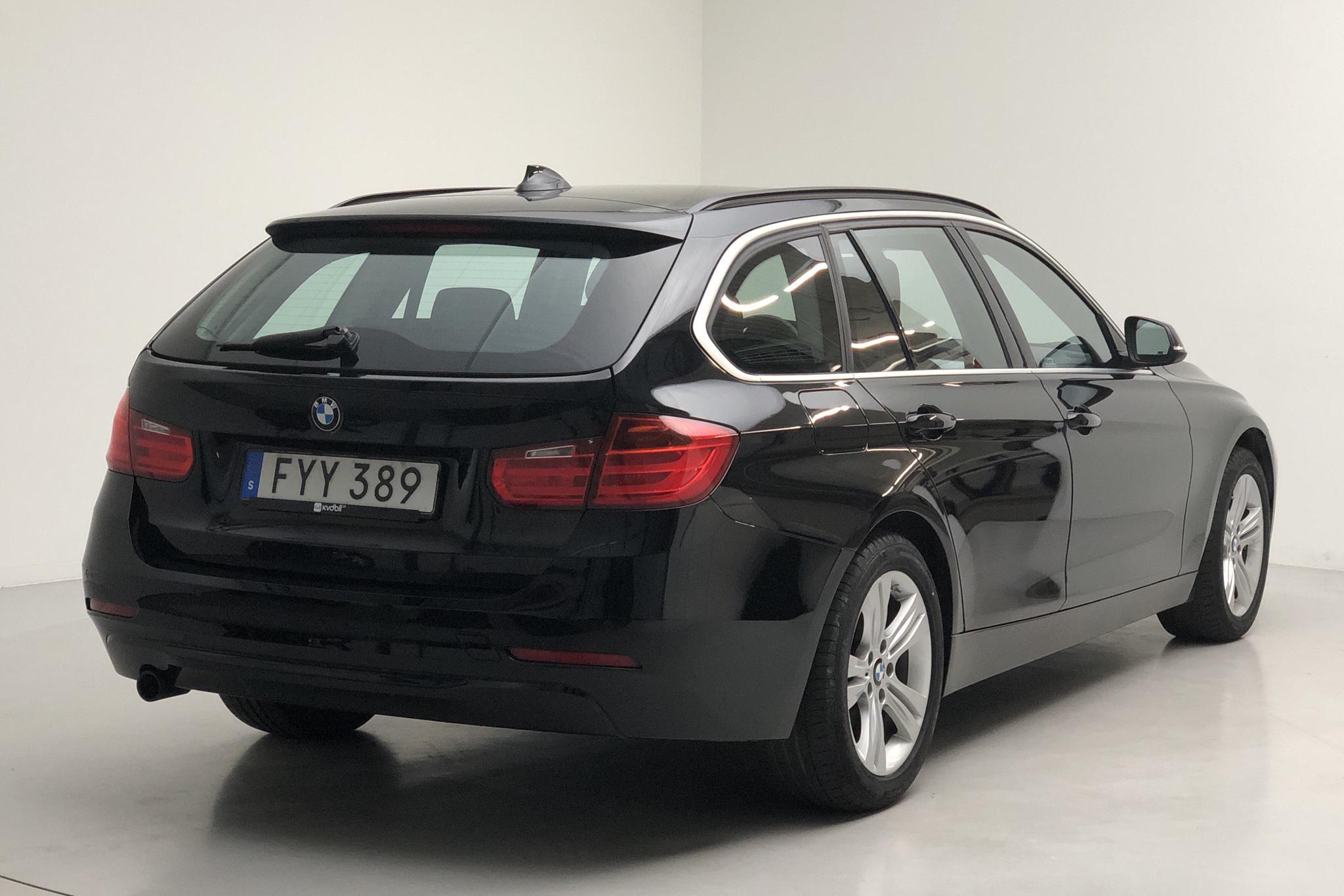 BMW 320d xDrive Touring, F31 (184hk) - 67 140 km - Automatic - black - 2015
