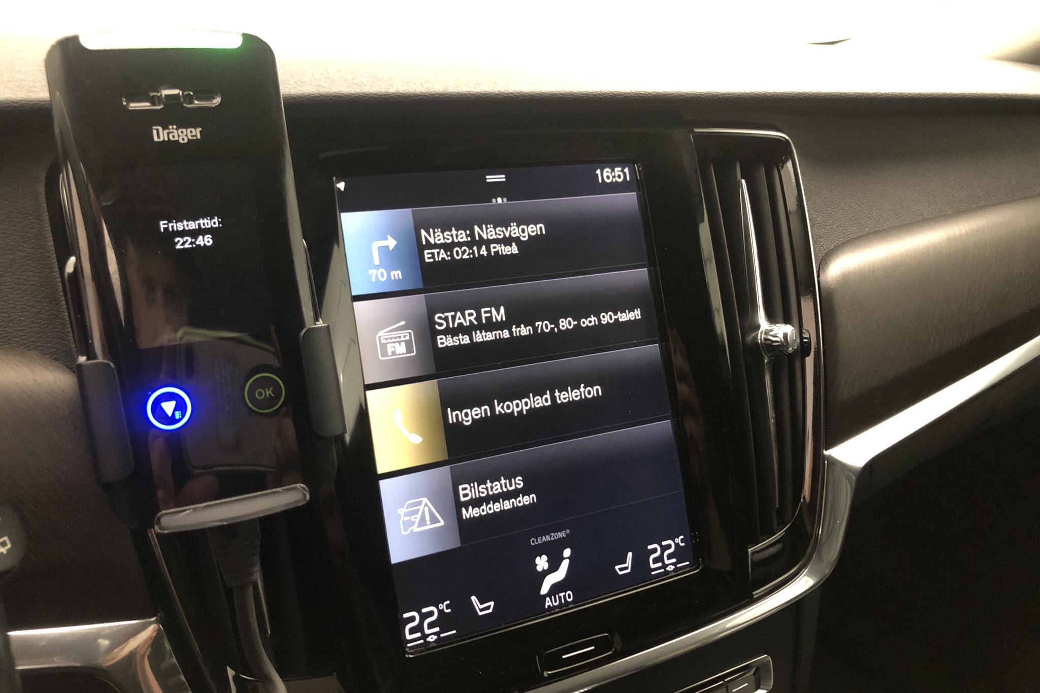 Volvo V90 D4 Cross Country AWD (190hk) - 13 708 mil - Automat - grå - 2018
