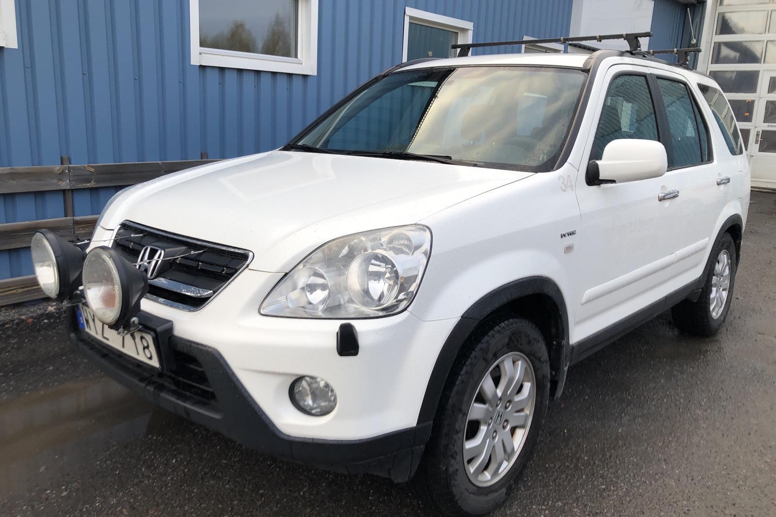 Honda CR-V 2.0 (150hk) - 215 830 km - Automatic - white - 2005
