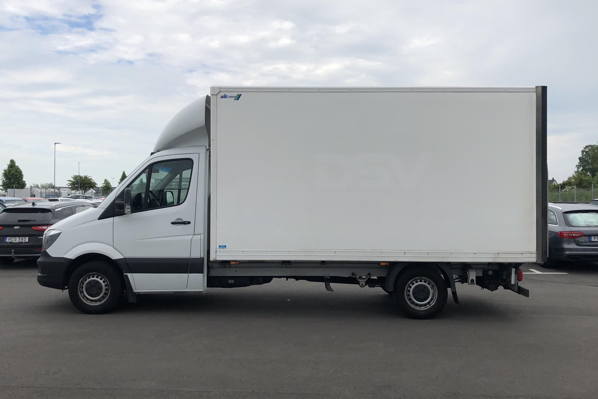 Mercedes Sprinter 316 CDI Volymskåp (163hk) - 14 291 mil - Automat - vit - 2017