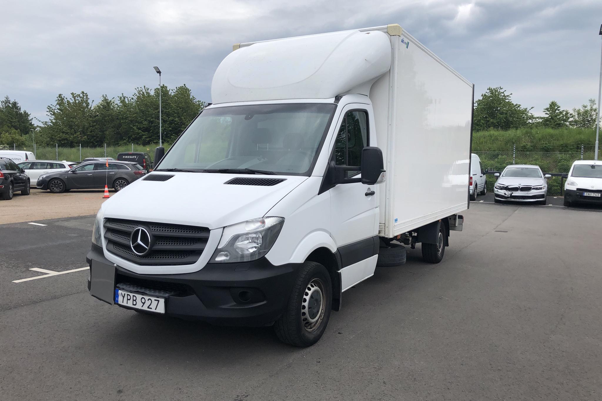 Mercedes Sprinter 316 CDI Volymskåp (163hk) - 14 922 mil - Automat - vit - 2018