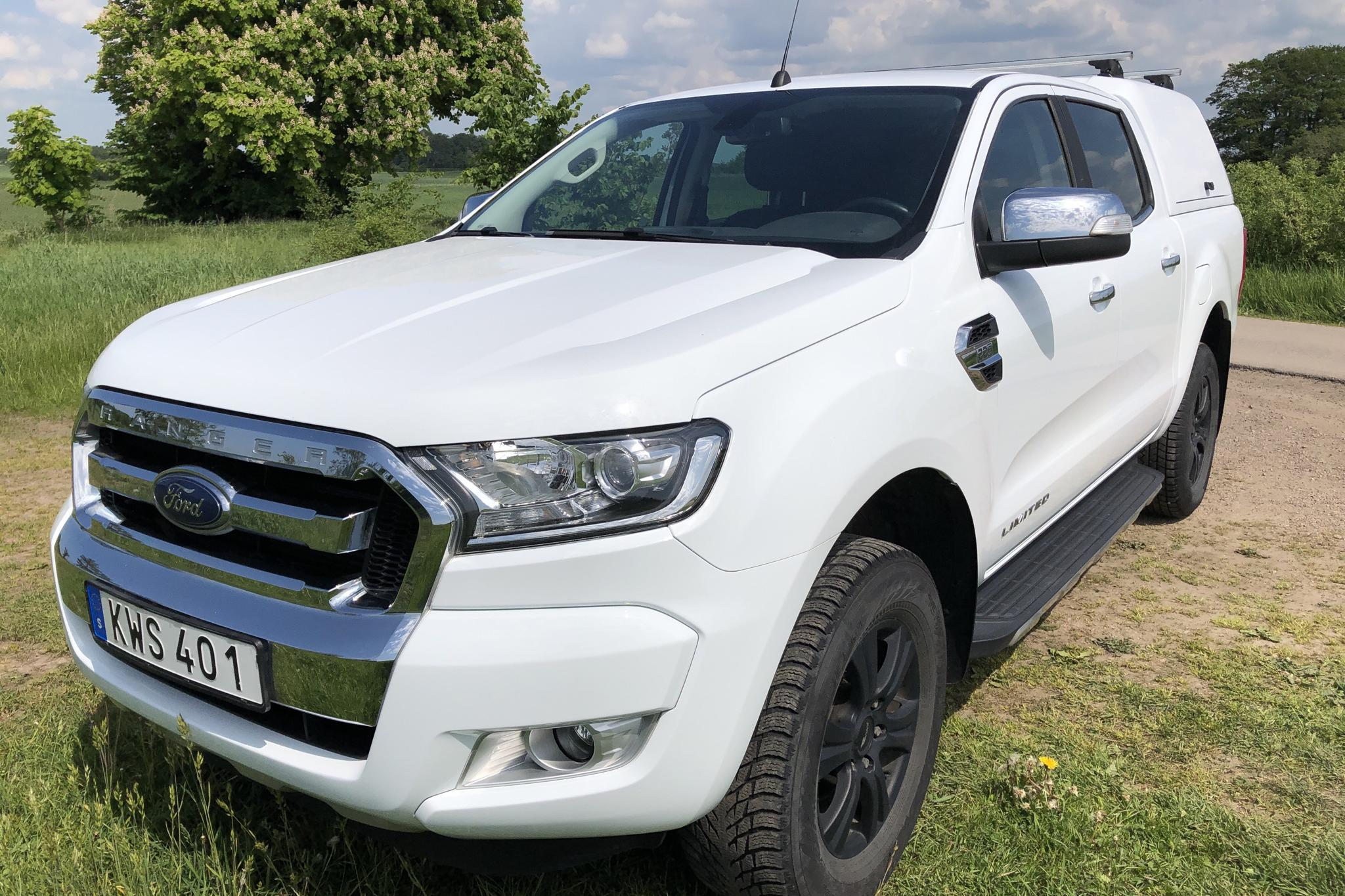 Ford Ranger 2.2 TDCi 4WD (160hk) - 10 333 mil - Automat - vit - 2018