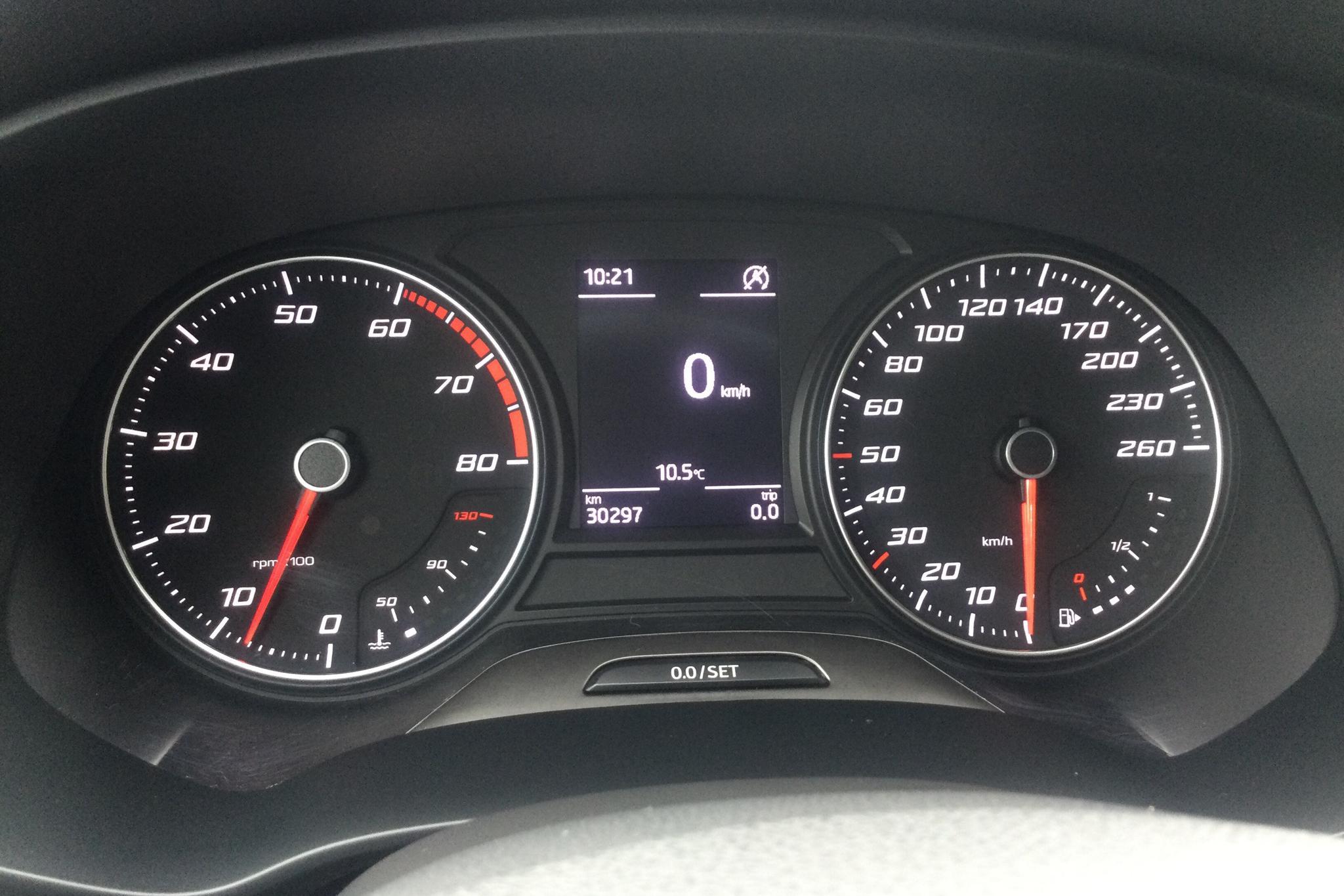 Seat Leon 1.2 TSI 5dr (110hk) - 30 290 km - Manual - black - 2017