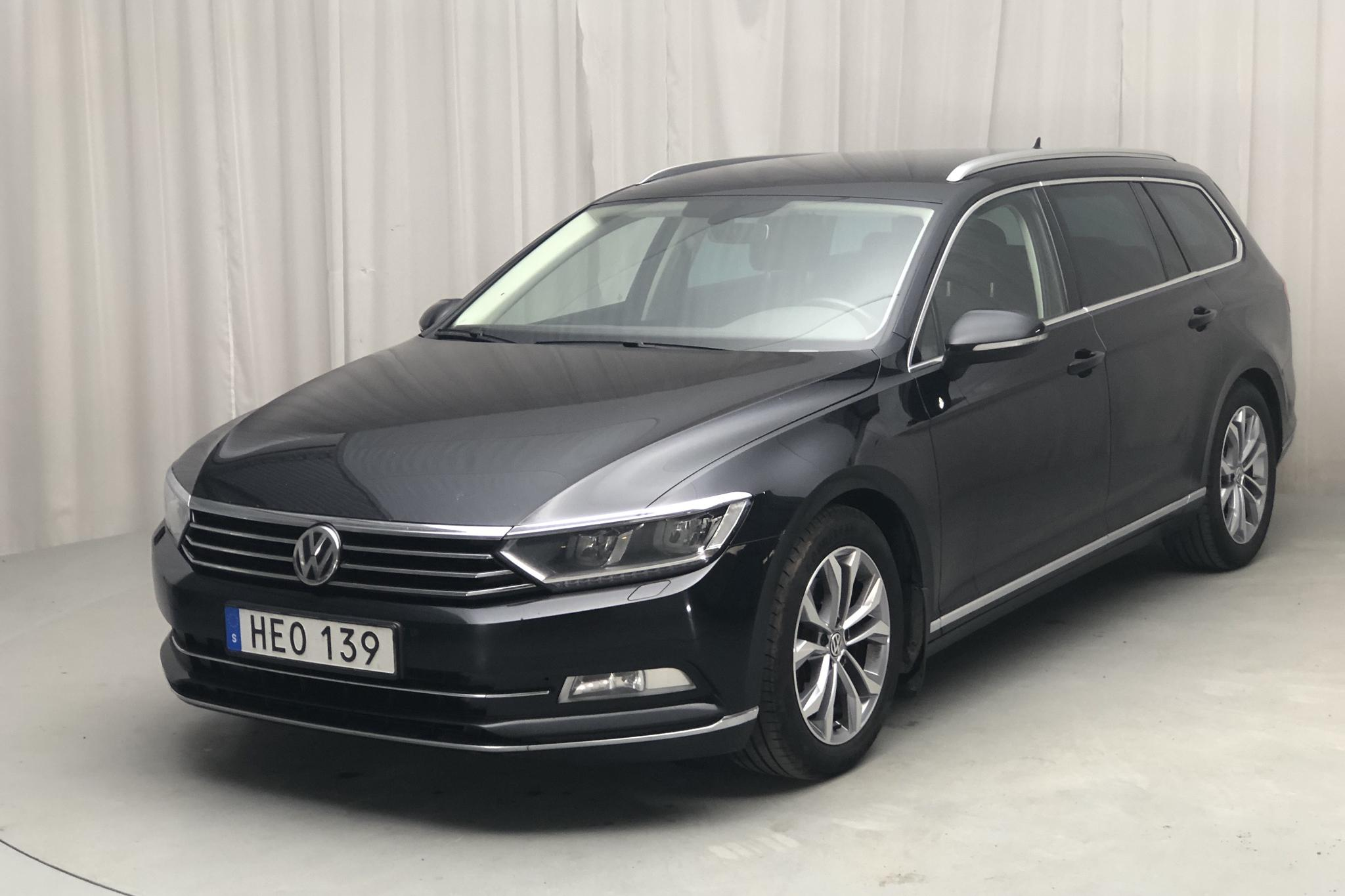 VW Passat 2.0 TDI Sportscombi (190hk) - 187 860 km - Automatic - black - 2015
