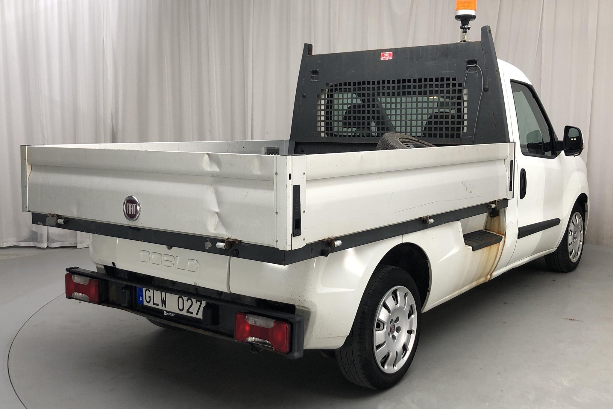 Fiat Doblo Work Up 1.3 Multijet (90hk) - 132 510 km - Manual - white - 2012