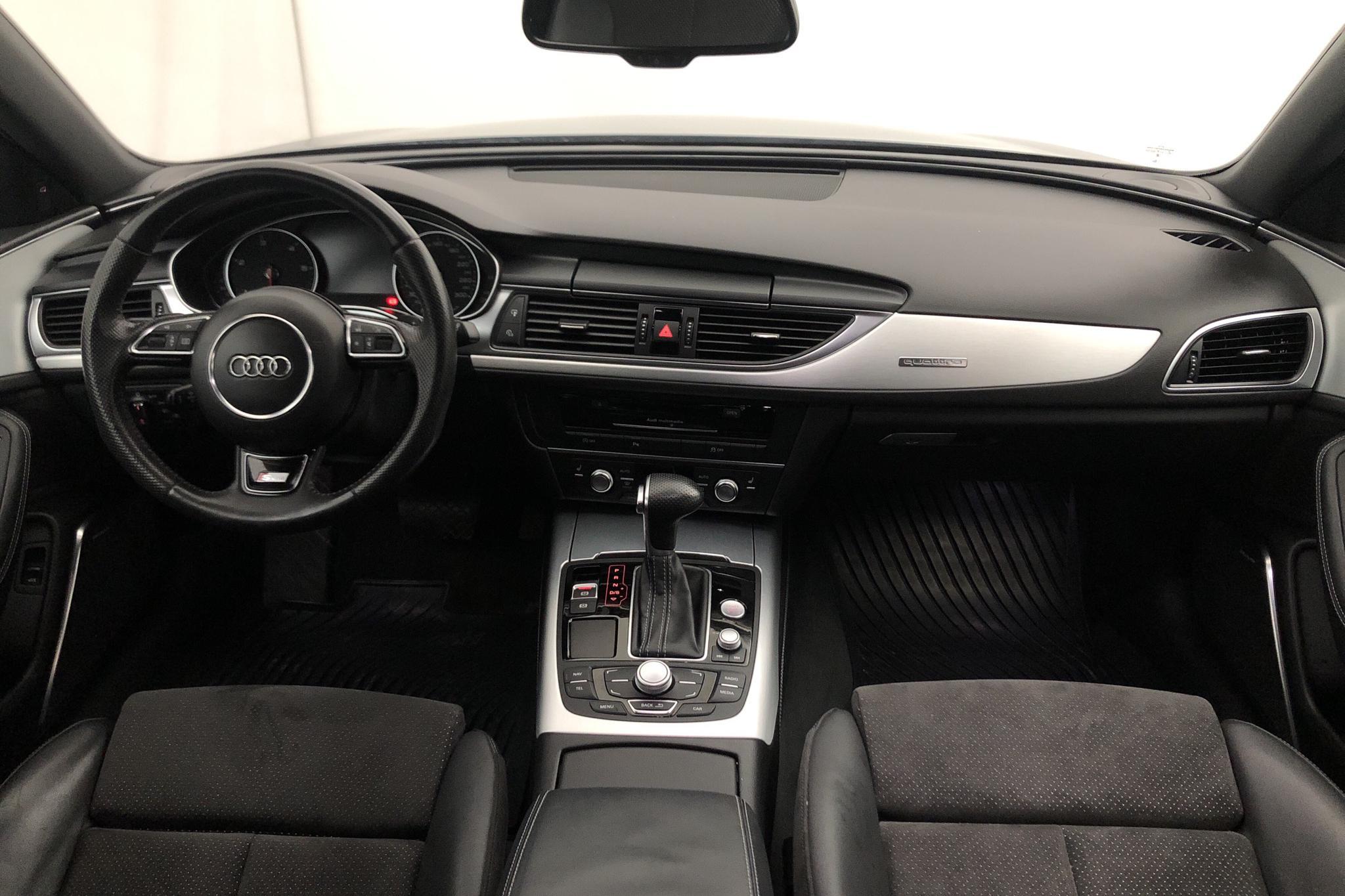 Audi A6 3.0 TDI Avant quattro (313hk) - 11 980 mil - Automat - Dark Grey - 2014