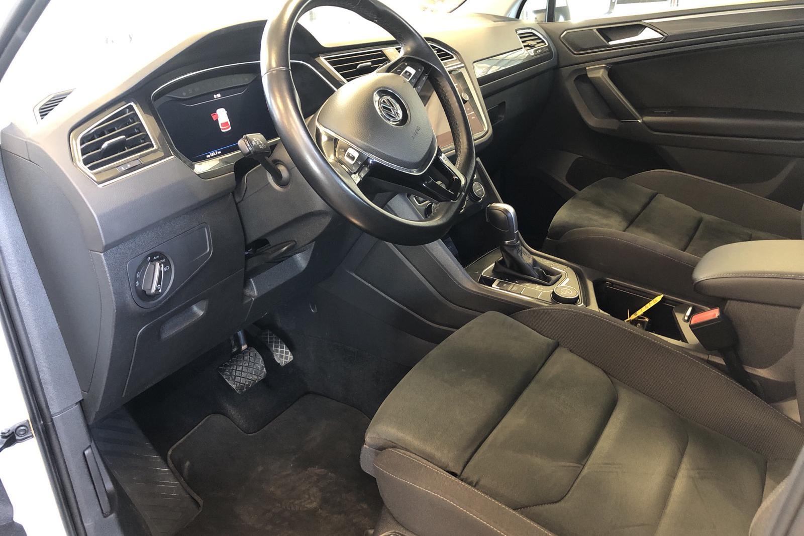 VW Tiguan 2.0 TDI 4MOTION (190hk) - 106 290 km - Automatic - white - 2018