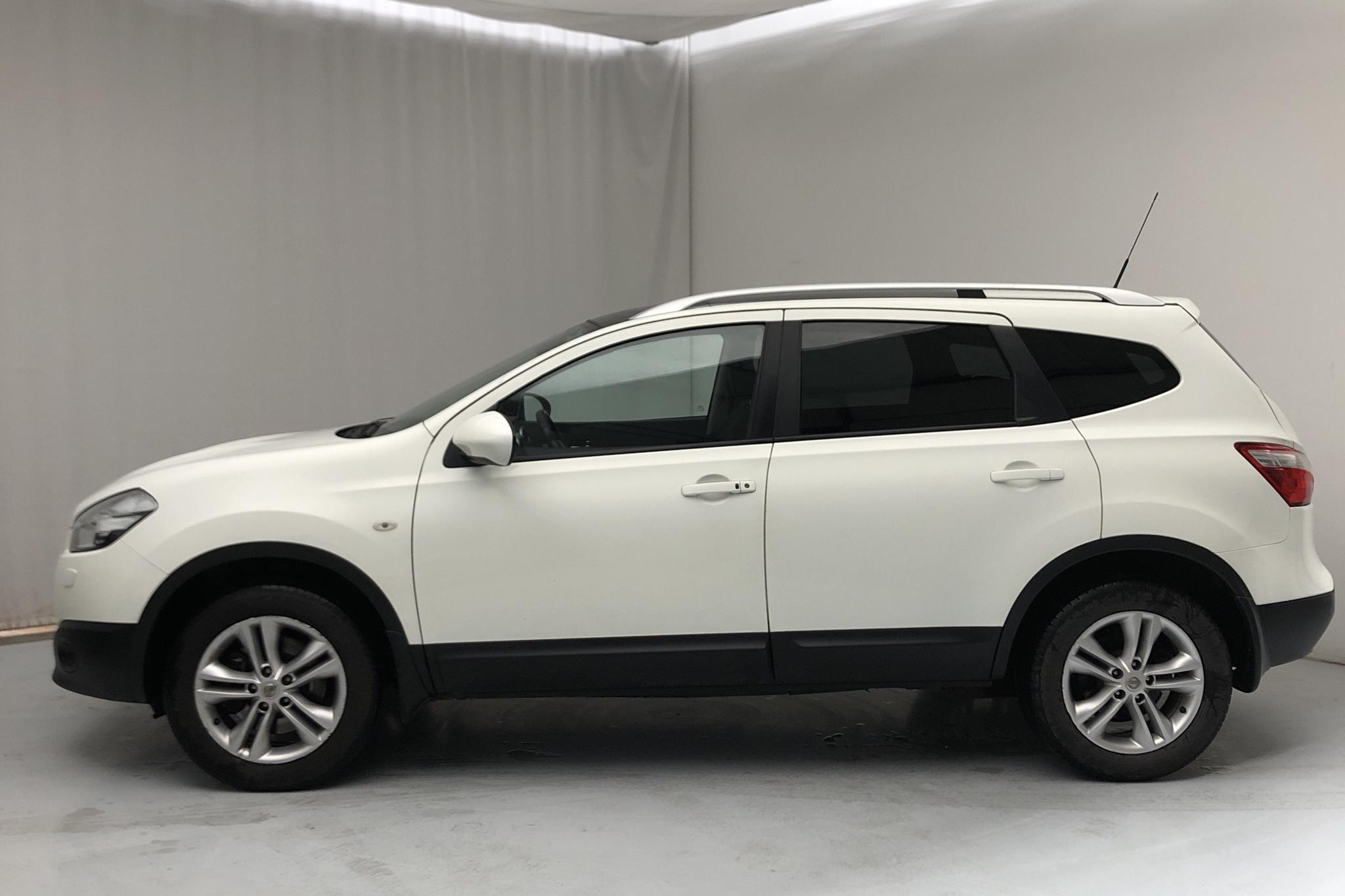 Nissan Qashqai+2 2.0 4x4 (140hk) - 161 210 km - Automatic - white - 2013