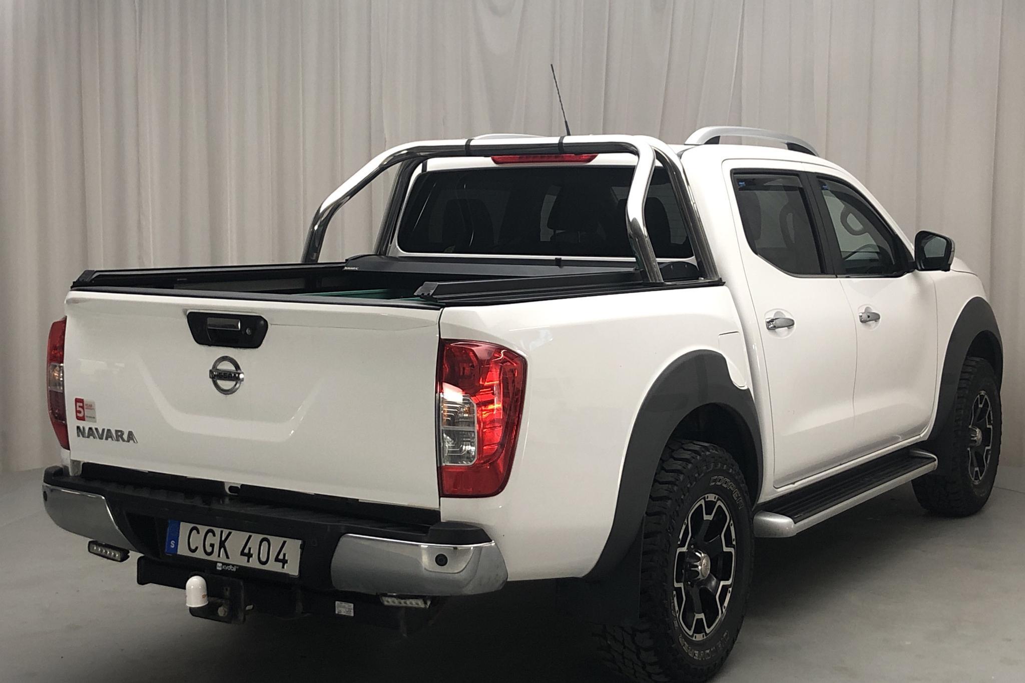 Nissan Navara 2.3 dCi 4x4 (190hk) - 9 320 mil - Automat - vit - 2018