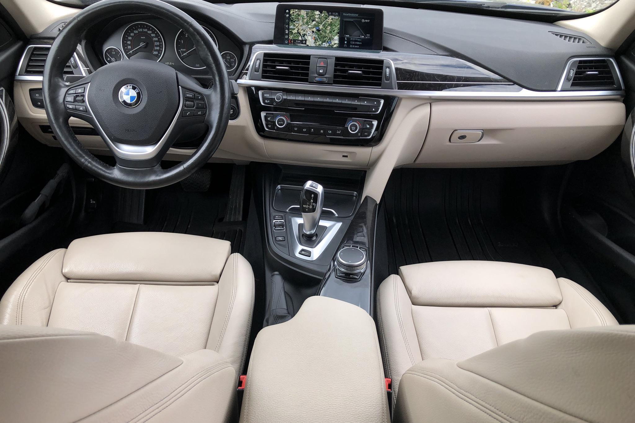 BMW 330e Sedan, F30 (252hk) - 99 870 km - Automatic - blue - 2018