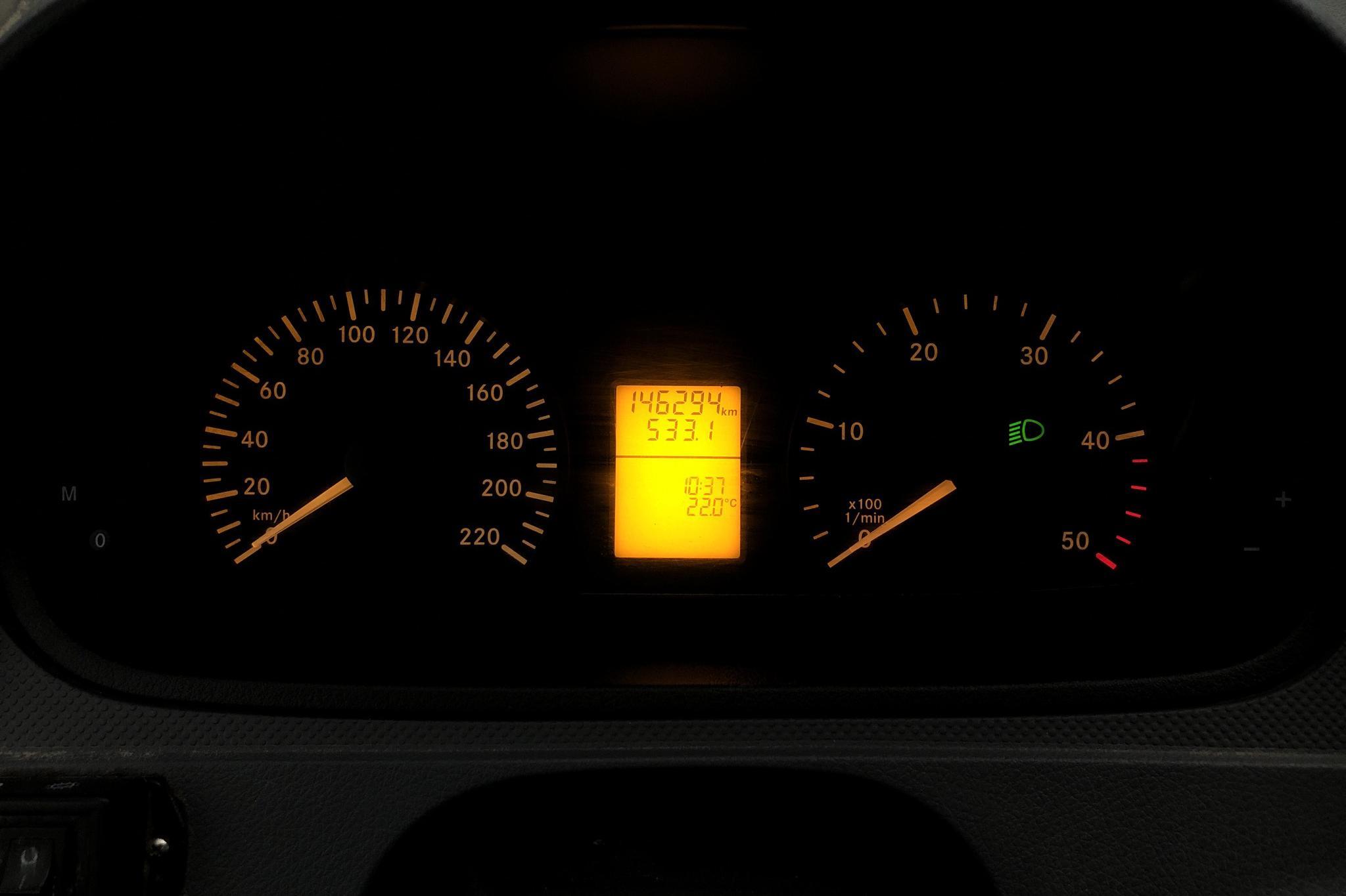 Mercedes Vito 111 CDI Skåp W639 (116hk) - 146 290 km - Manual - white - 2008