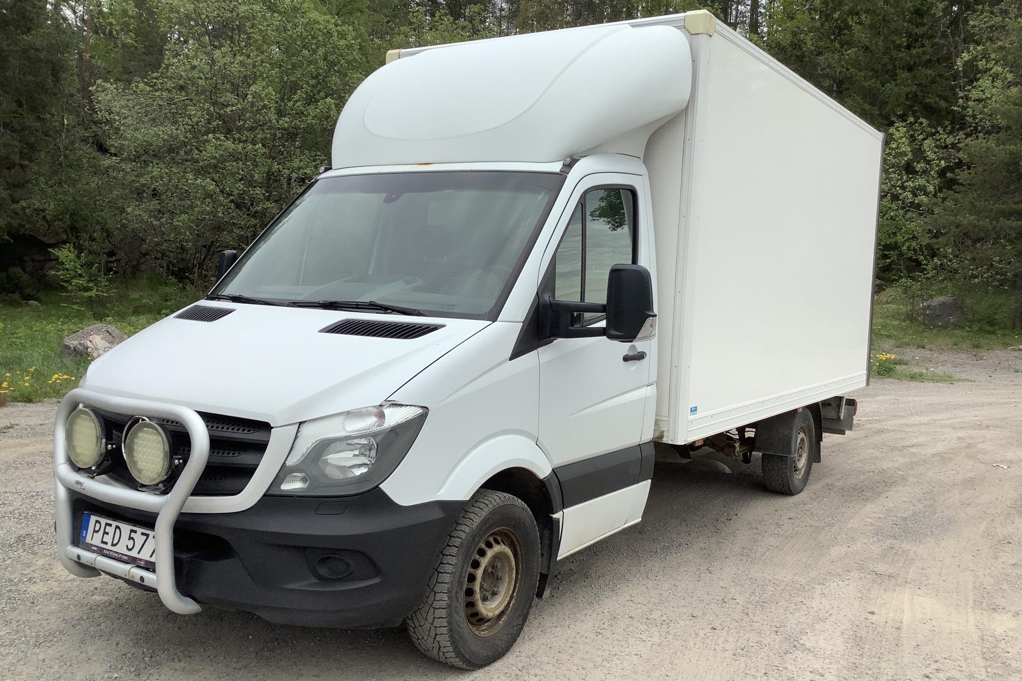 Mercedes Sprinter 316 CDI Volymskåp (163hk) - 321 740 km - Manual - white - 2017